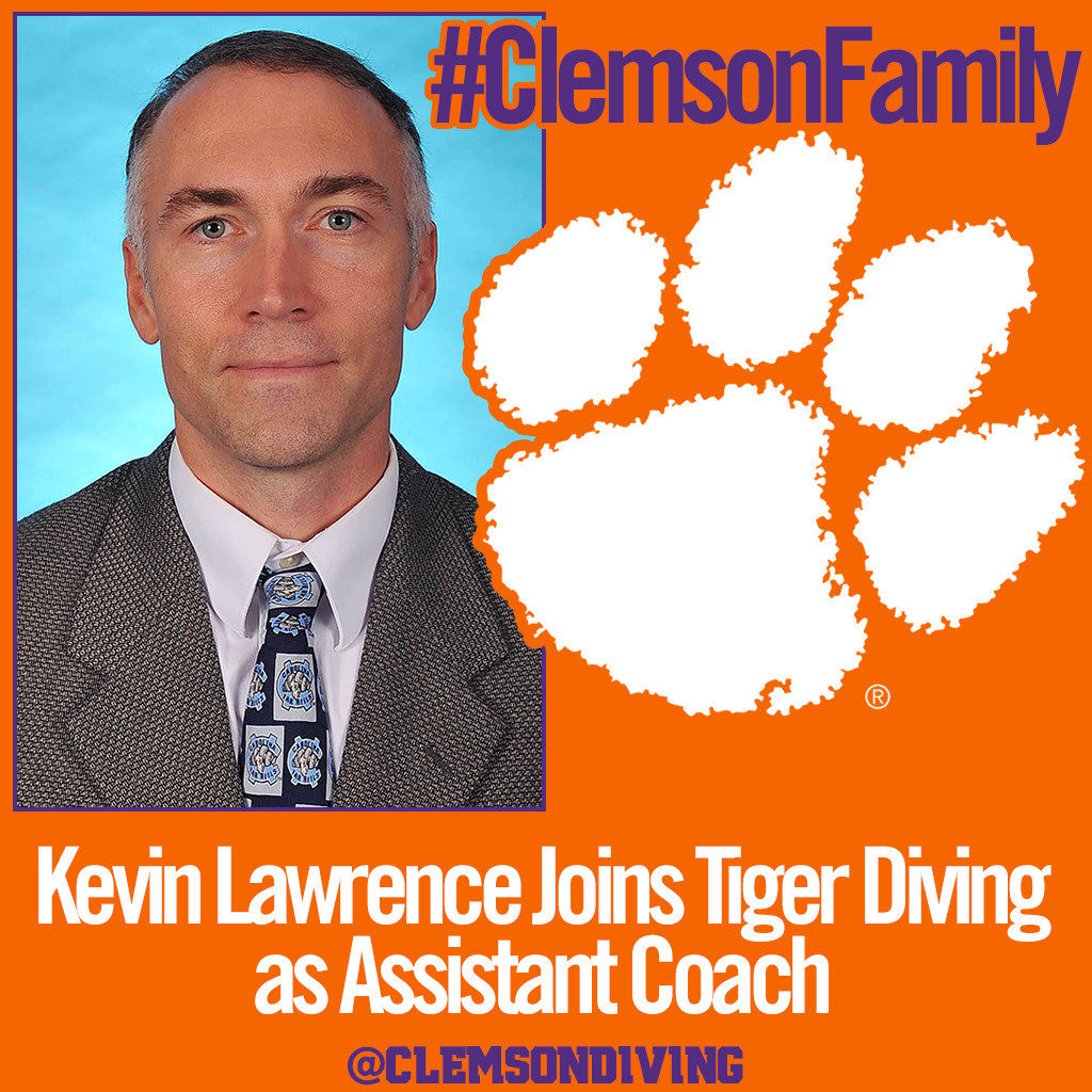 Lawrence Named Assistant Diving Coach