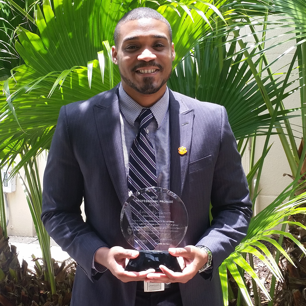 Henderson Receives N4A Professional Promise Award