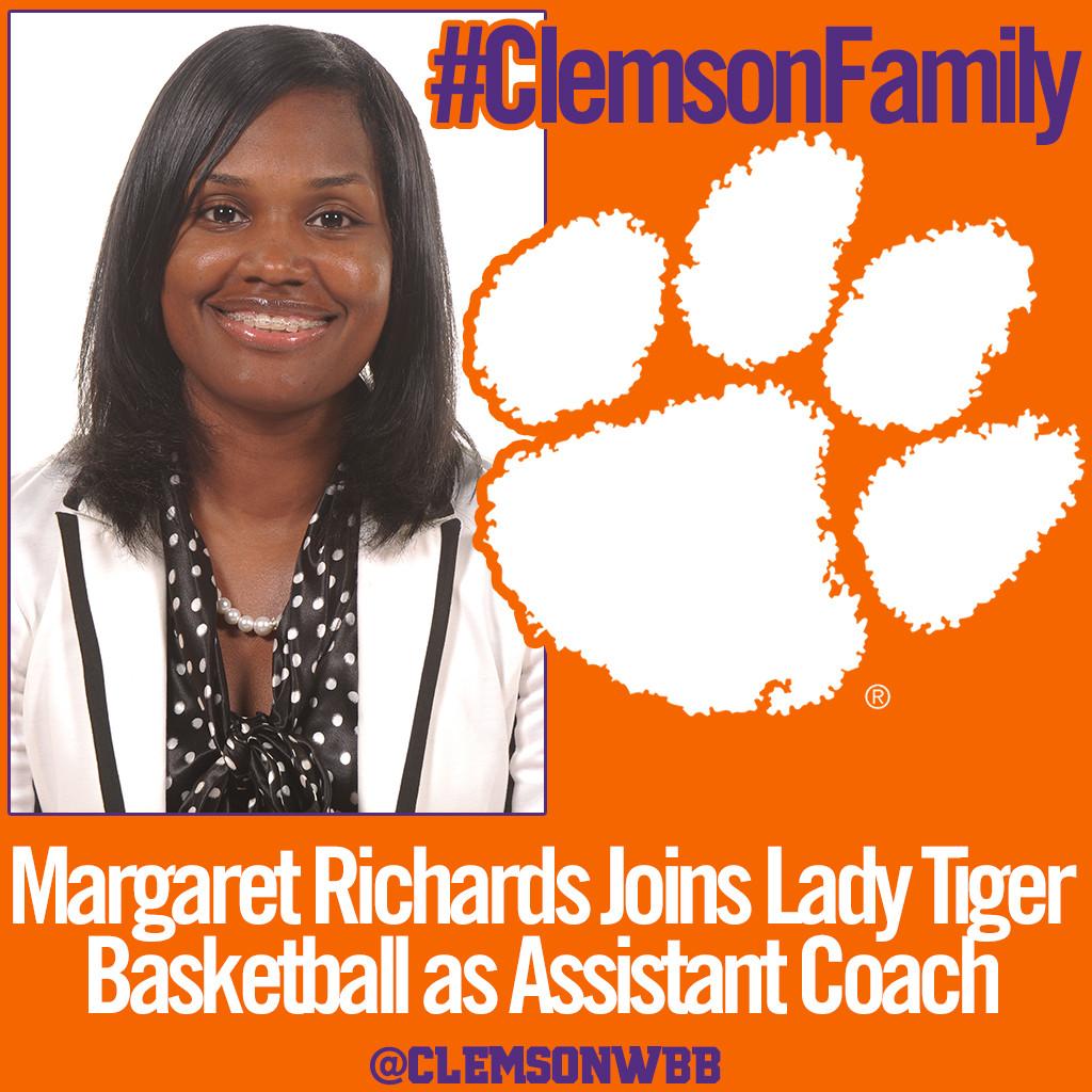 Richards Joins Clemson Women?s Basketball Staff