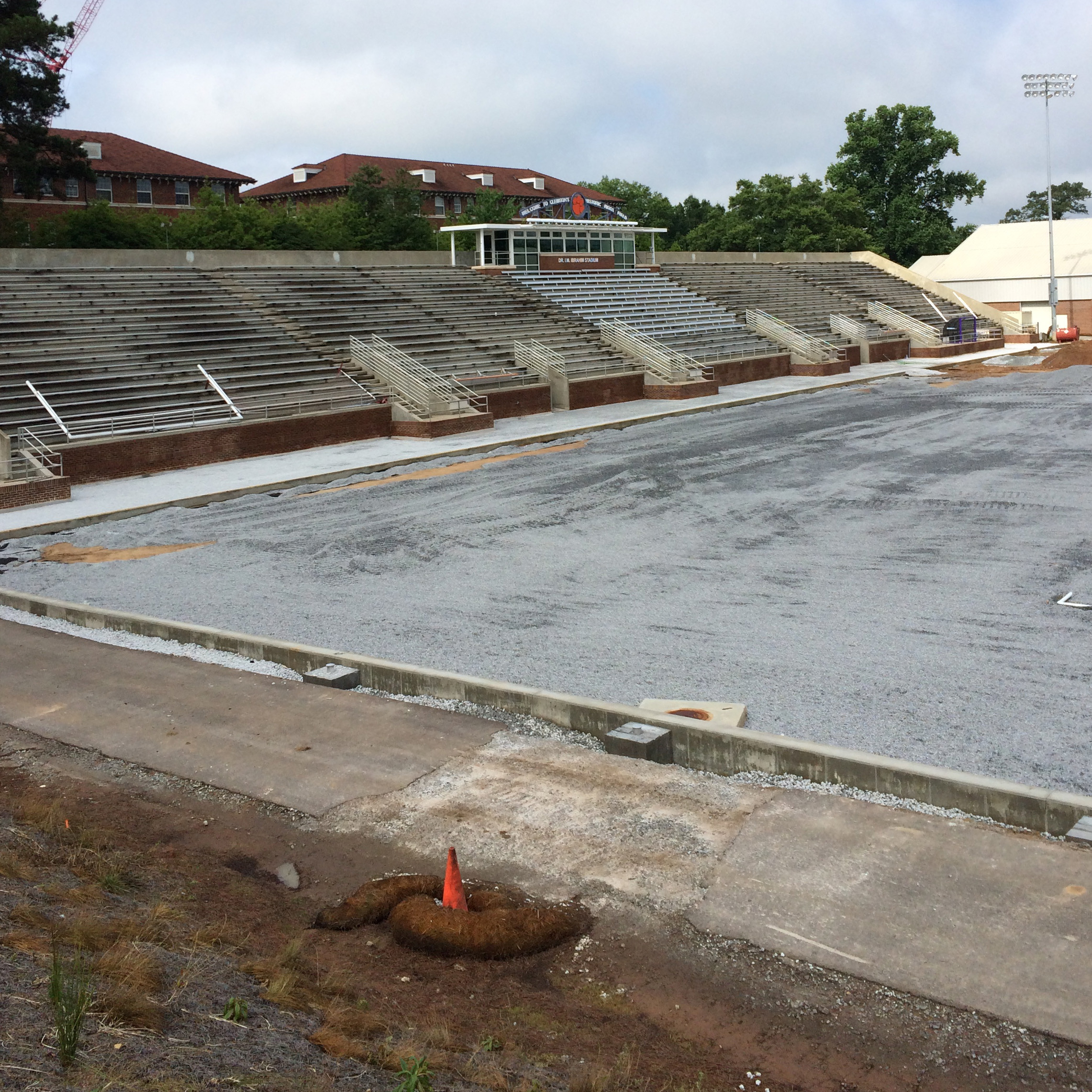 Construction Continues at Historic Riggs Field