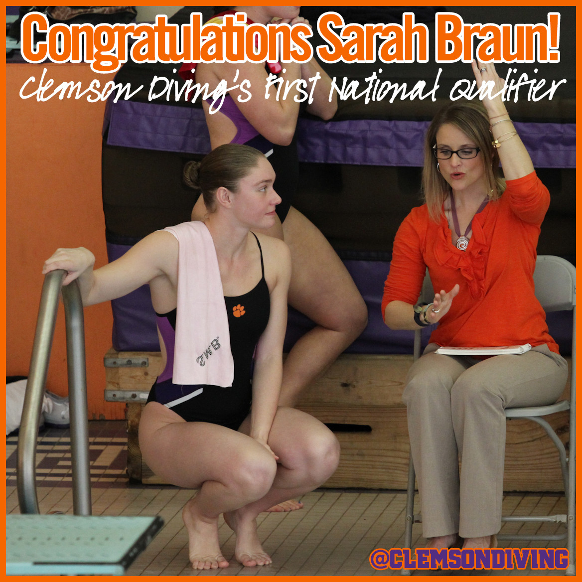Braun Qualifies for 2015 AT&T USA Diving National Championships