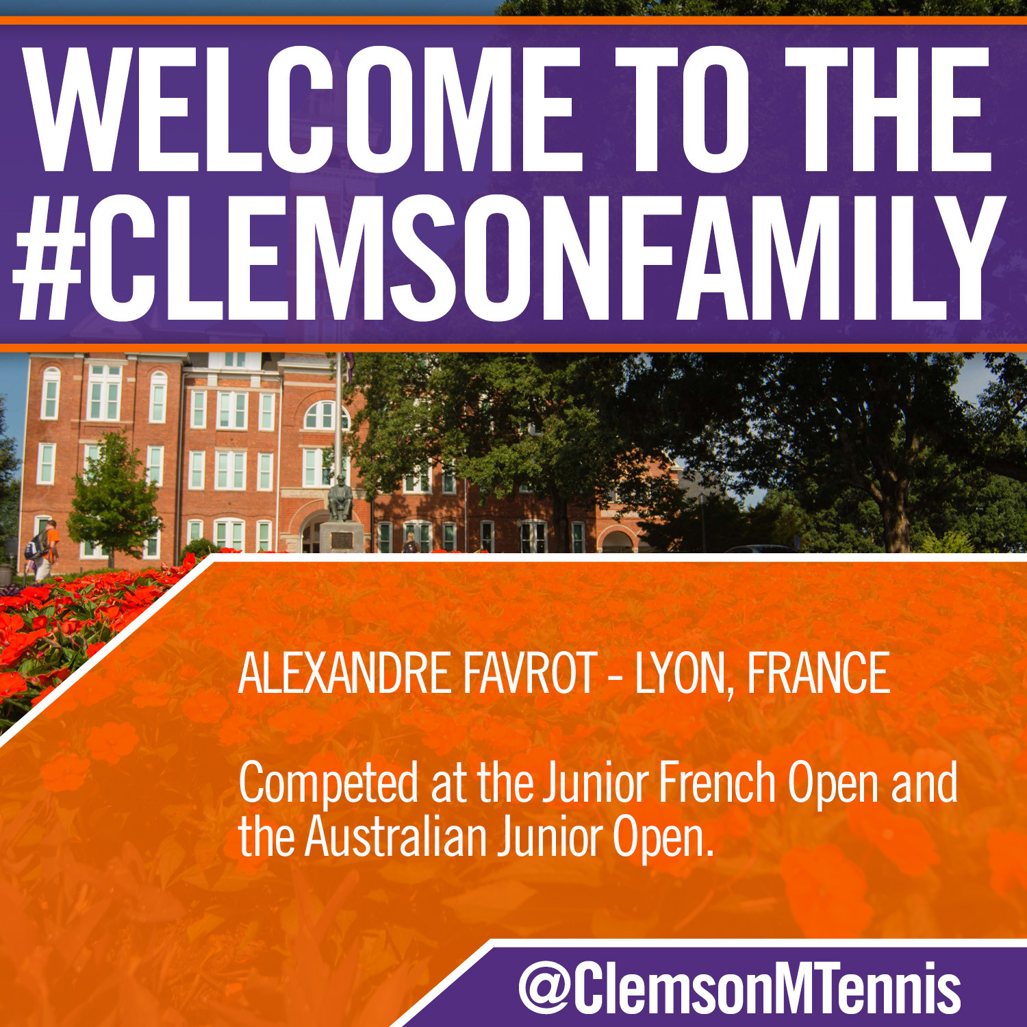 Tigers Add Alex Favrot to 2015-16 Class