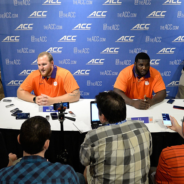 2015 #ACCKickoff ? The Players