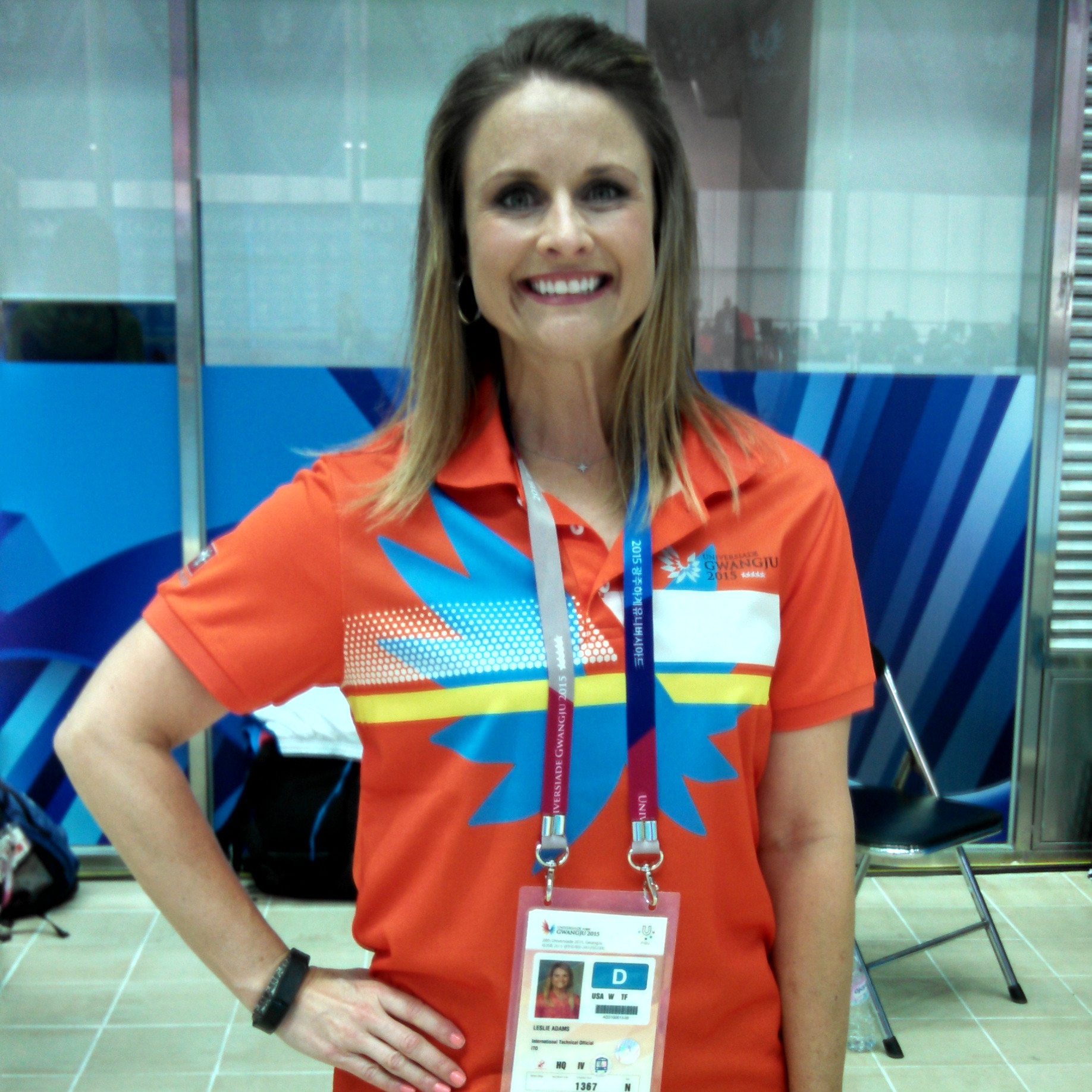 Hasselbach Adams to Represent US as Judge at World University Games
