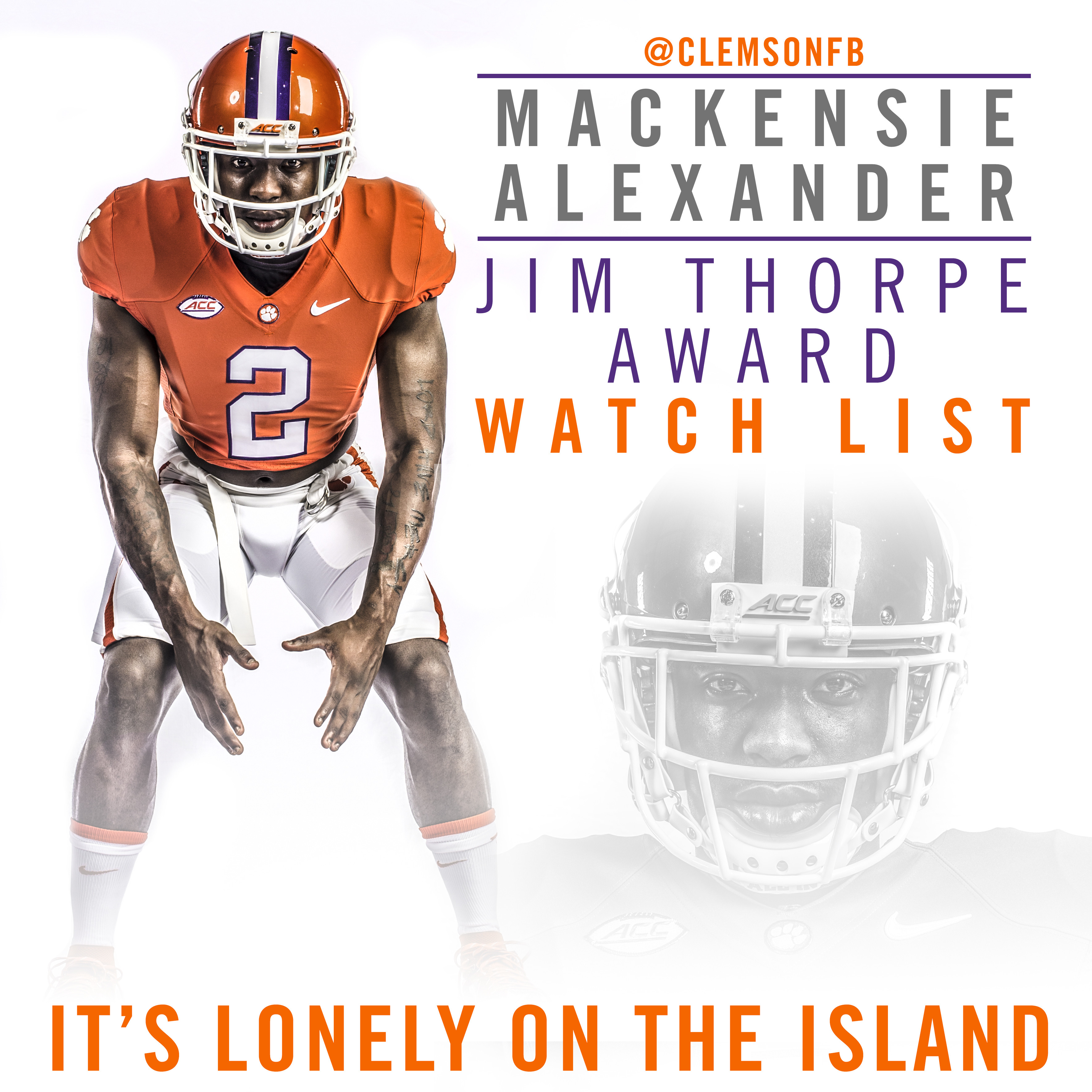 Alexander Named to Thorpe Watch List