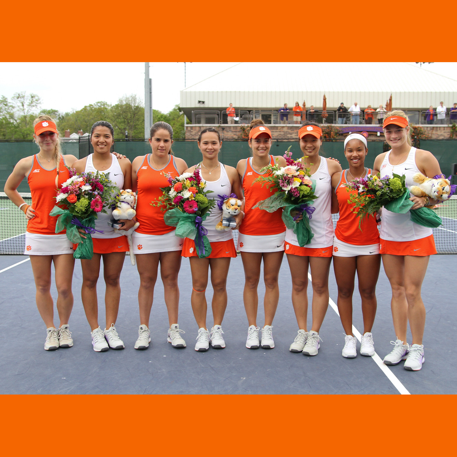 Clemson Named 2015 ITA All-Academic Team, Six Tigers Honored Individually