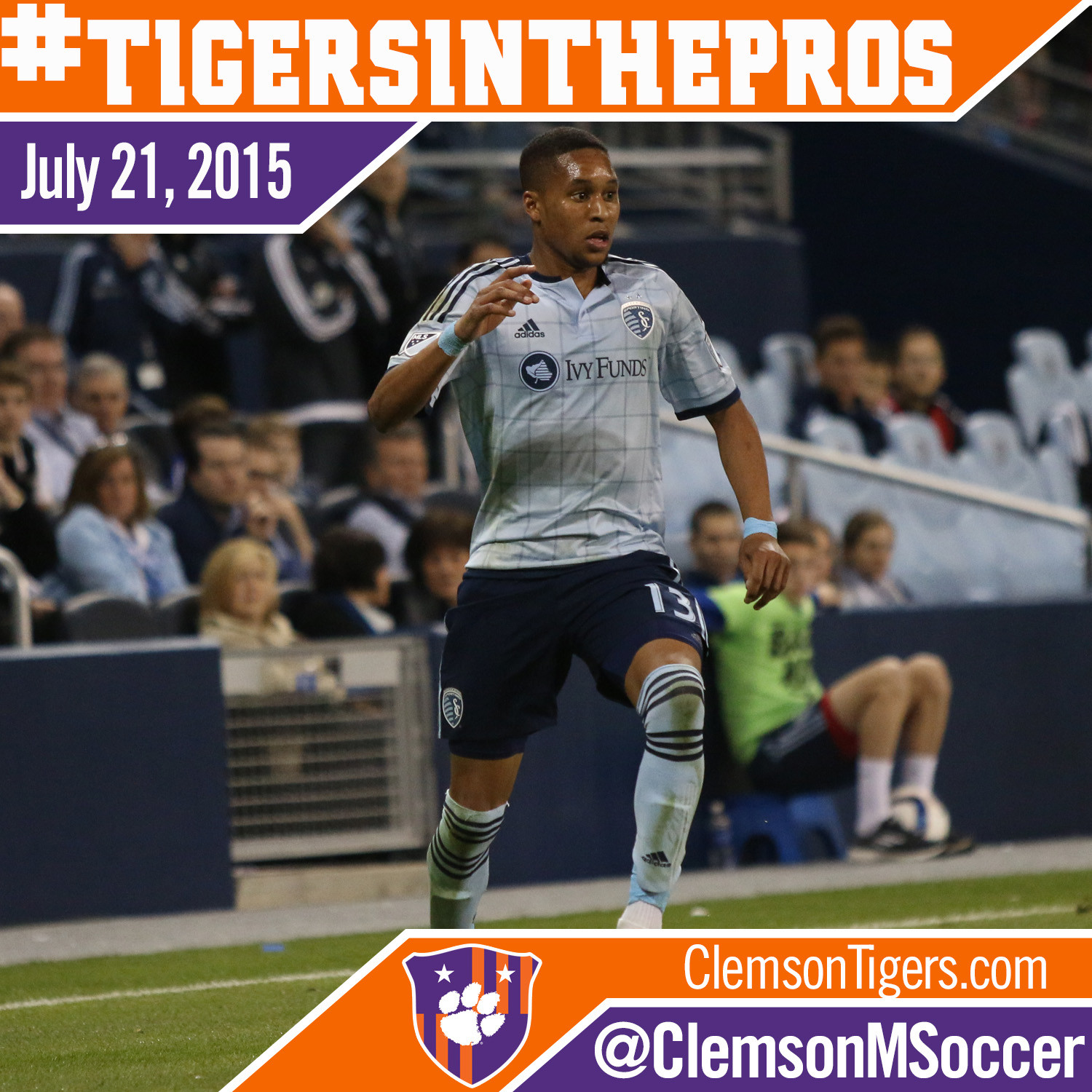 Former Tigers See Action in 10 MLS Matches