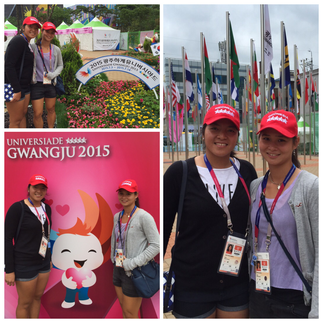 Gumulya & Rompies Represent Clemson, Indonesia at World University Games