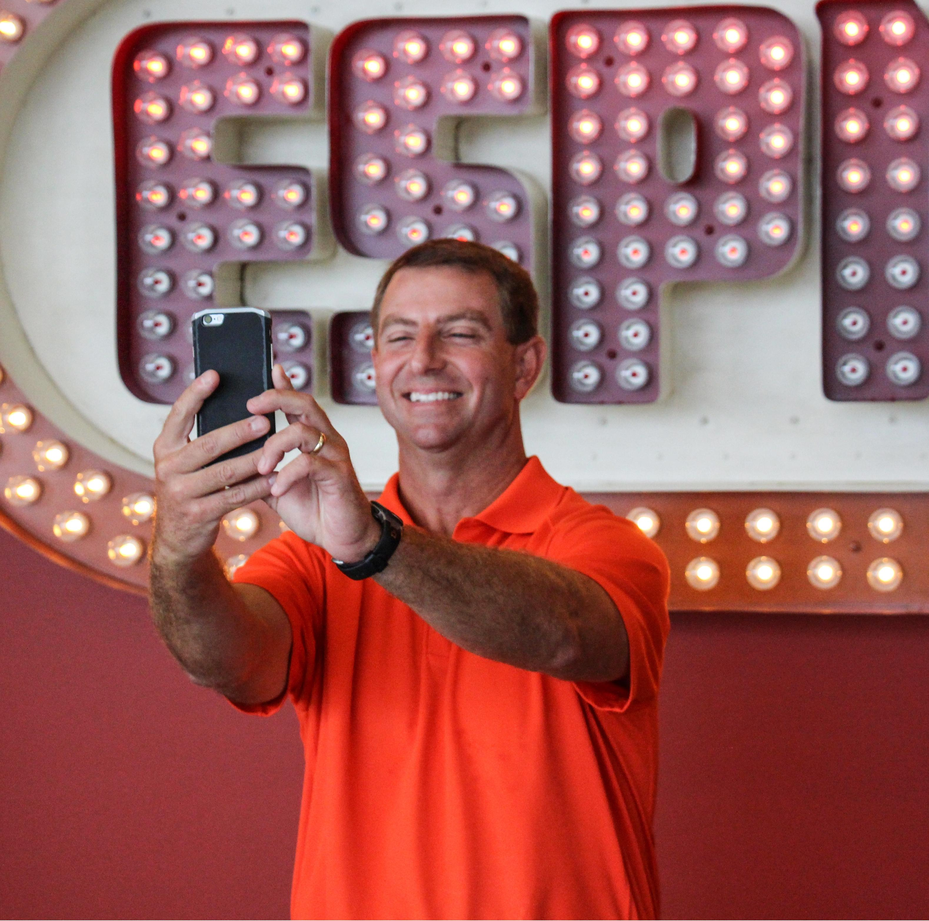 "Swinney Goes Through ESPN ""Car Wash"""