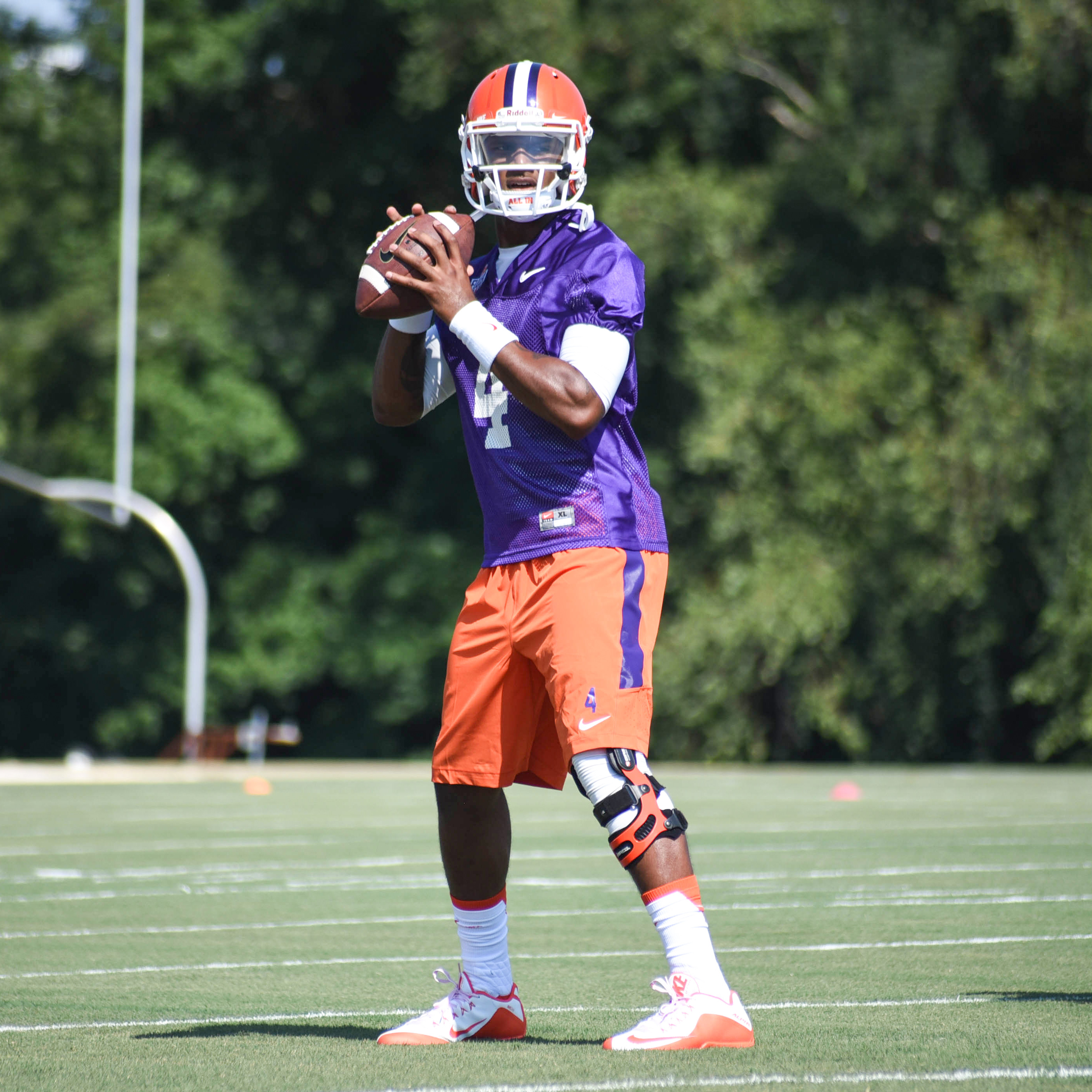 Watson Has Strong First Practice