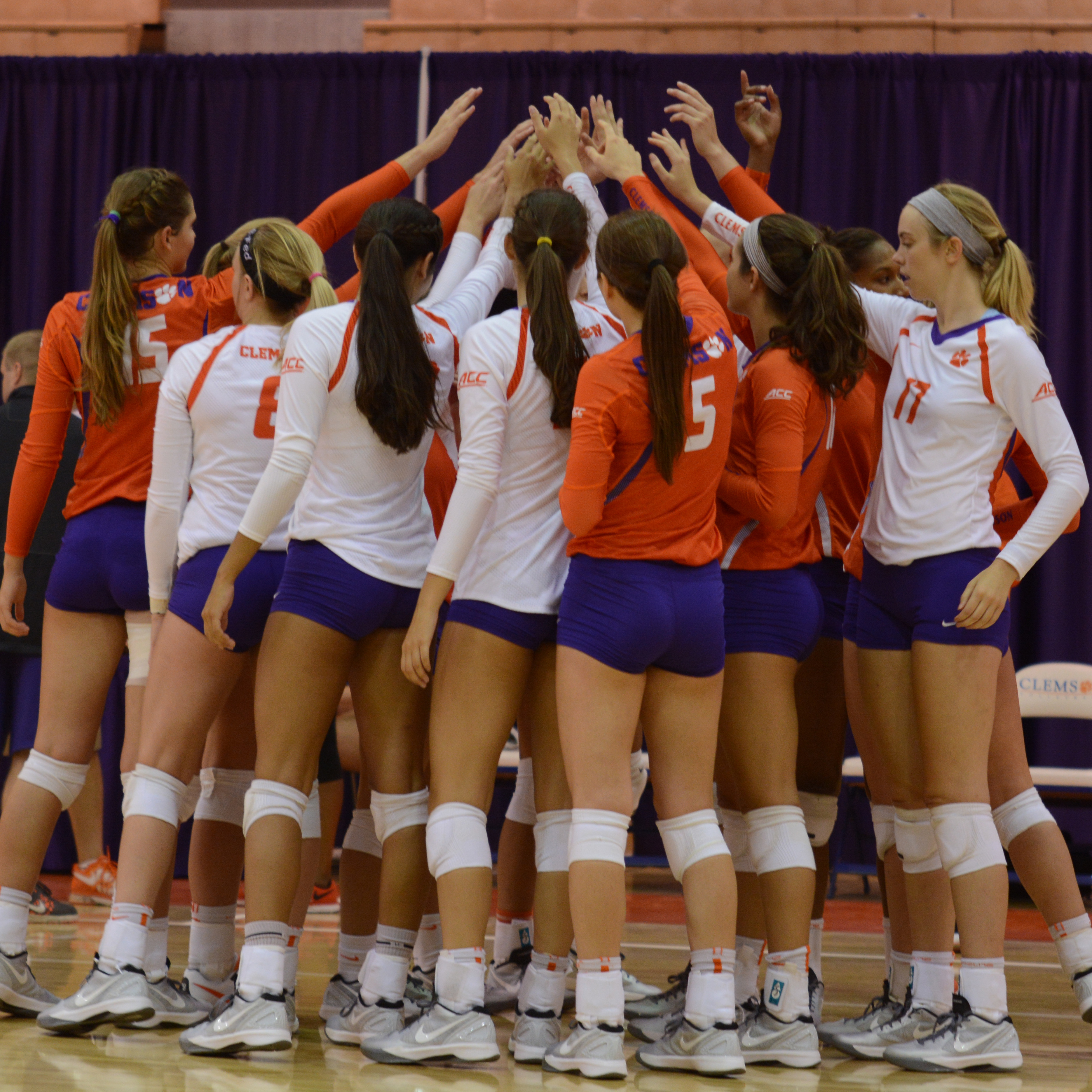 The Clemson Volleyball Family