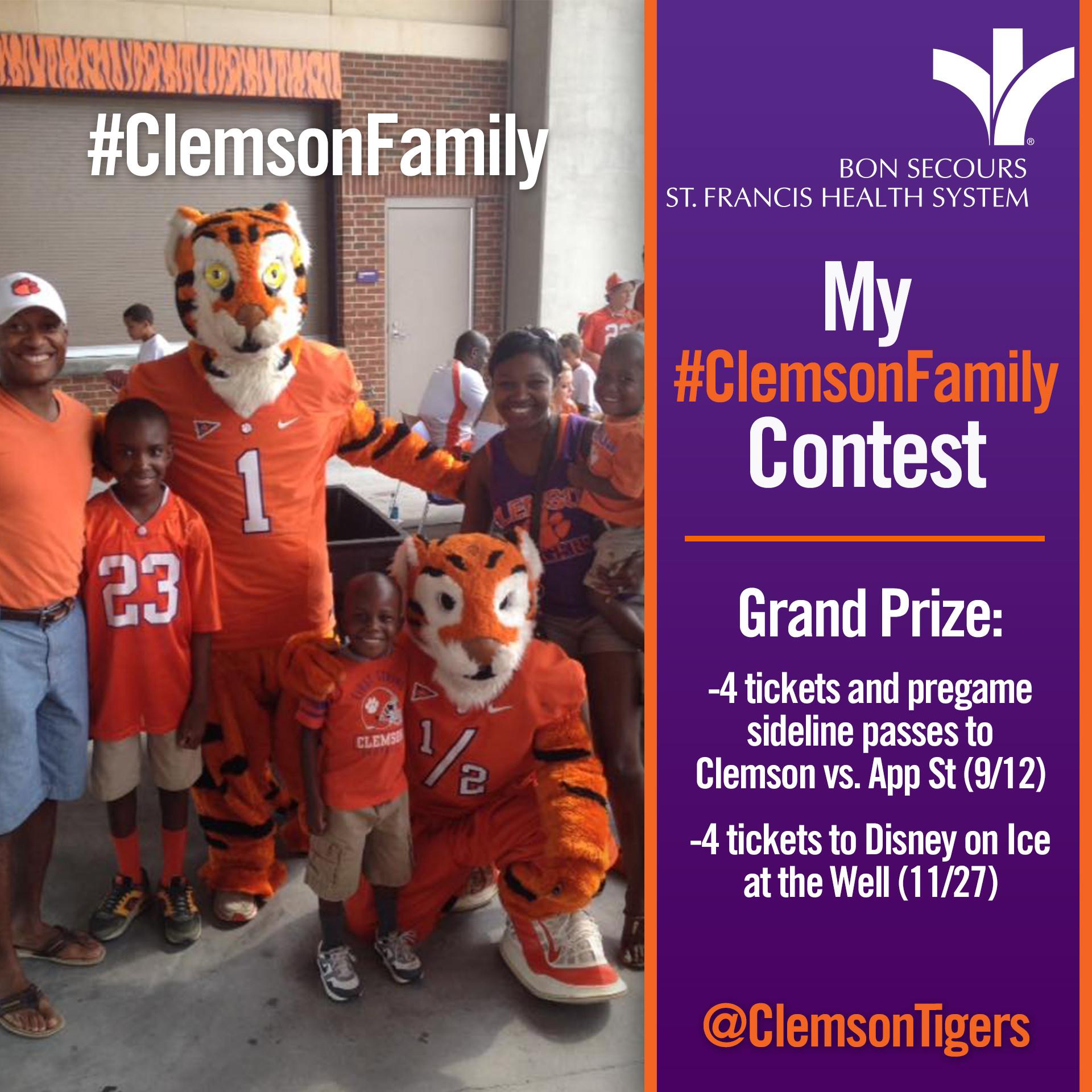 2015 My #ClemsonFamily Contest