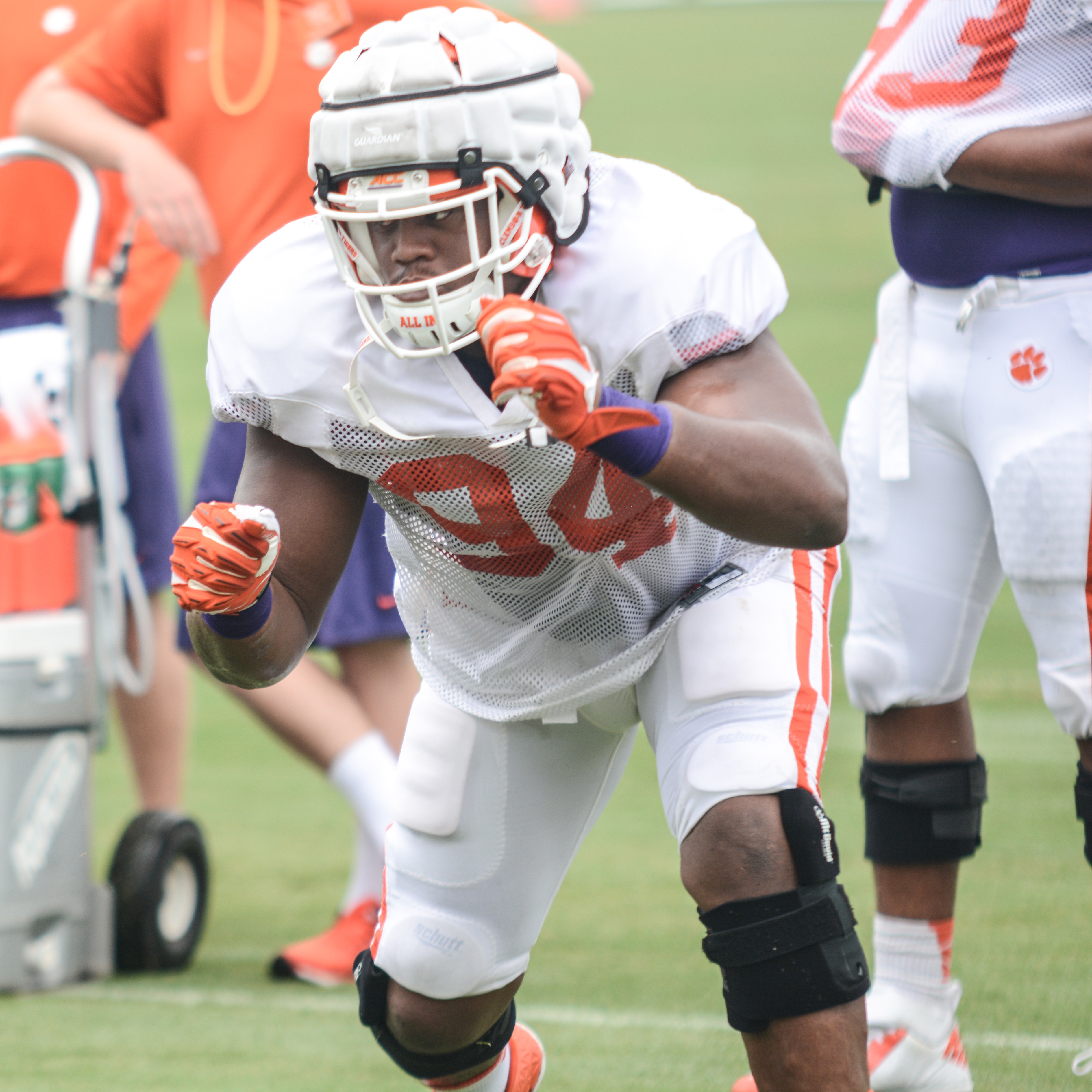 Swinney Returns to Practice