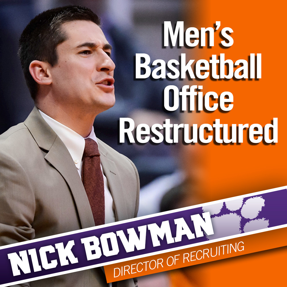 Men's Basketball Office Restructured