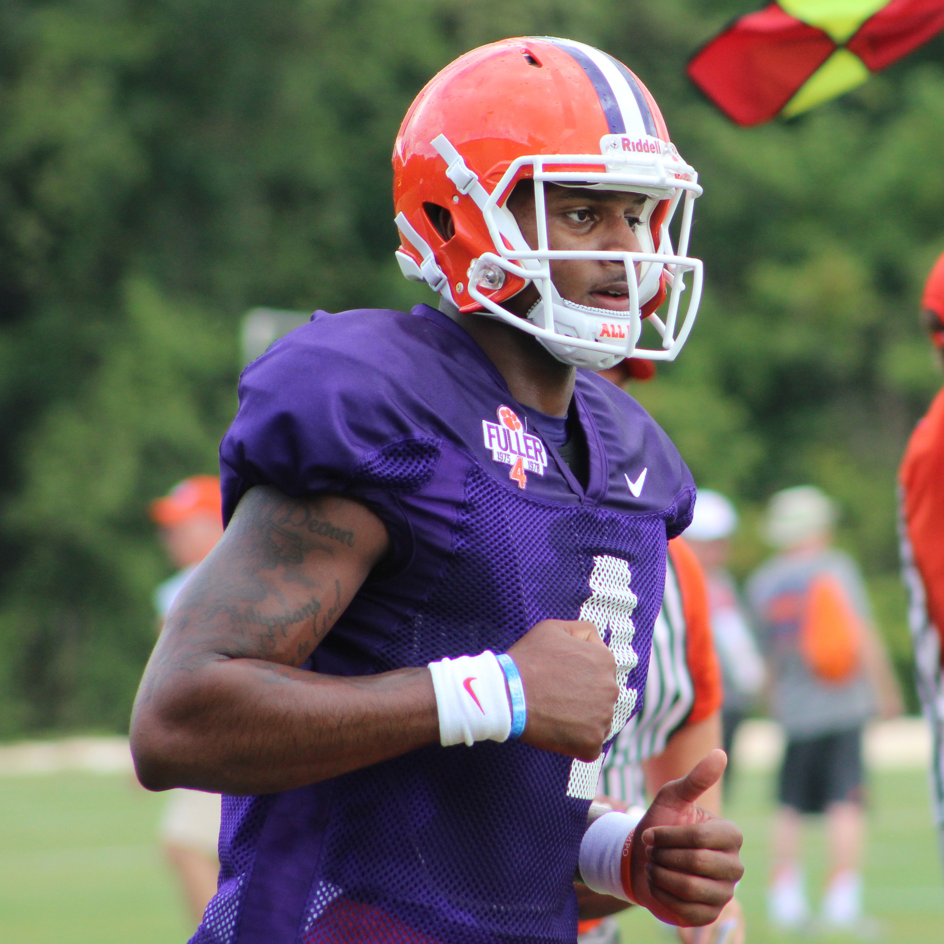 Tigers Hold Practice without Coach Swinney