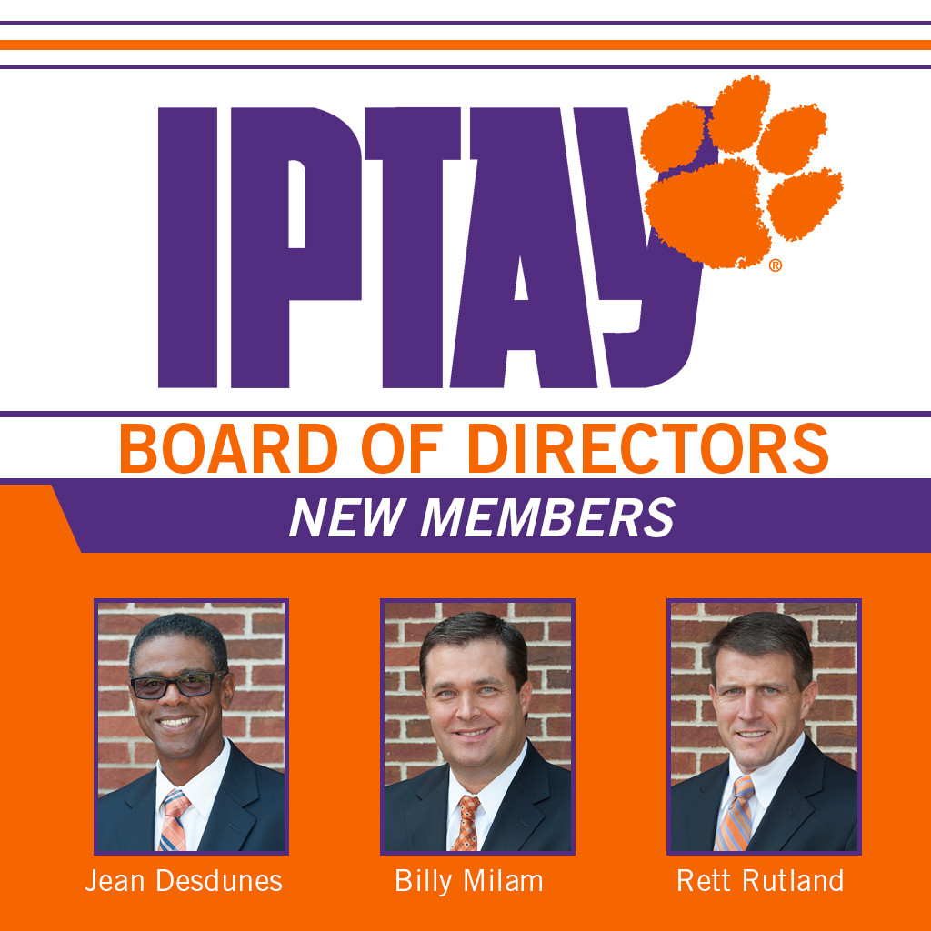 IPTAY Welcomes New Members To The IPTAY Board Of Directors