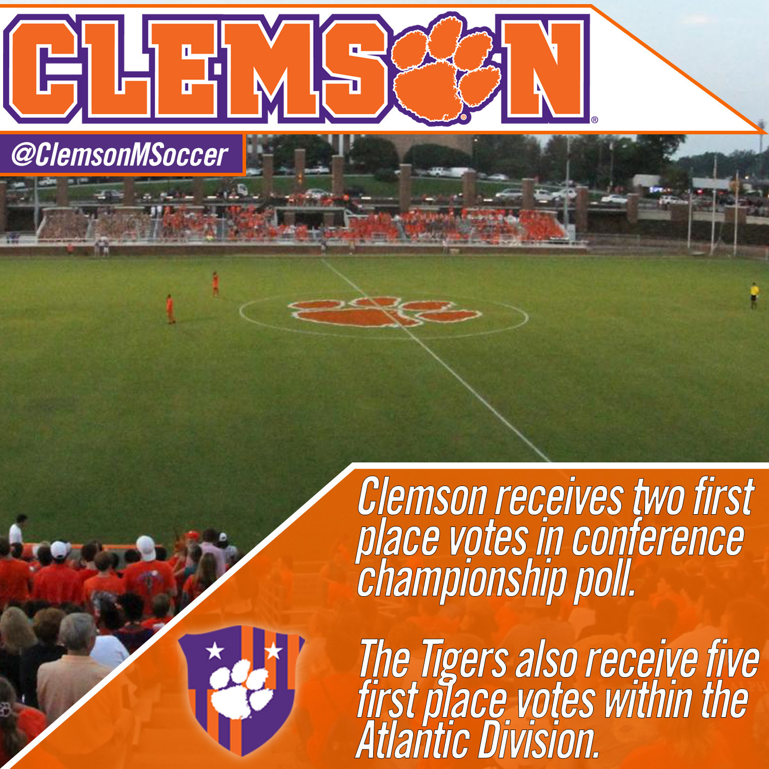 Clemson Picked Second in ACC Preseason Poll