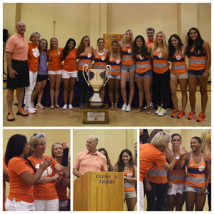 Tigers Earn President?s Pride Cup for 2014-15