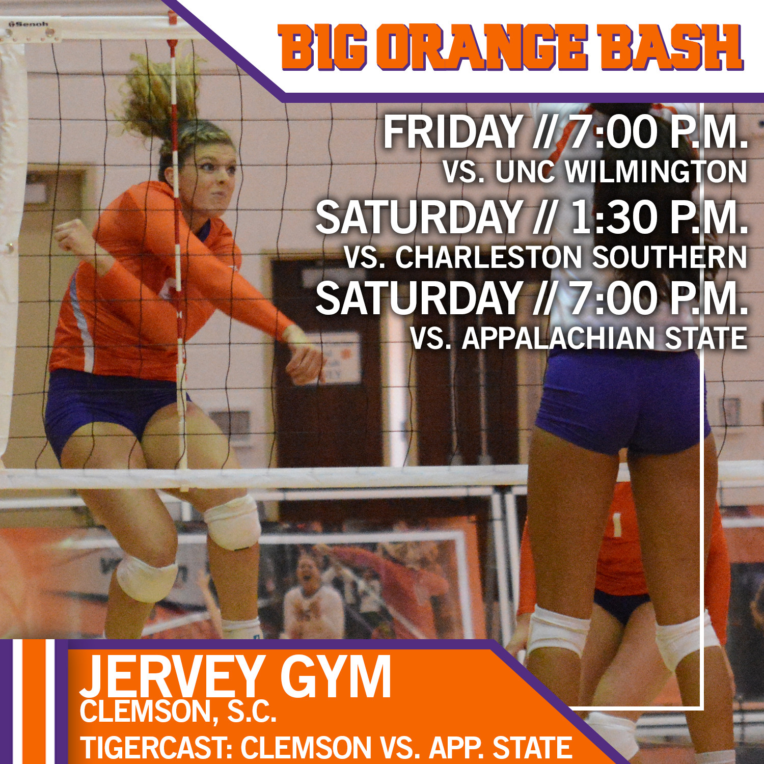 Volleyball In Clemson Begins Friday