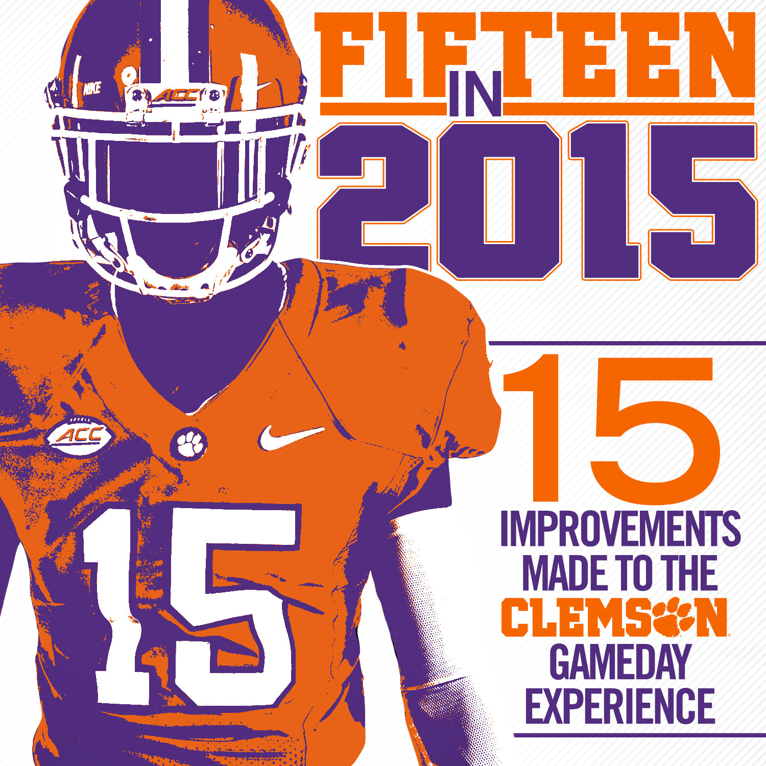 """15 in 15"" Gameday Experience Improvements Announced"
