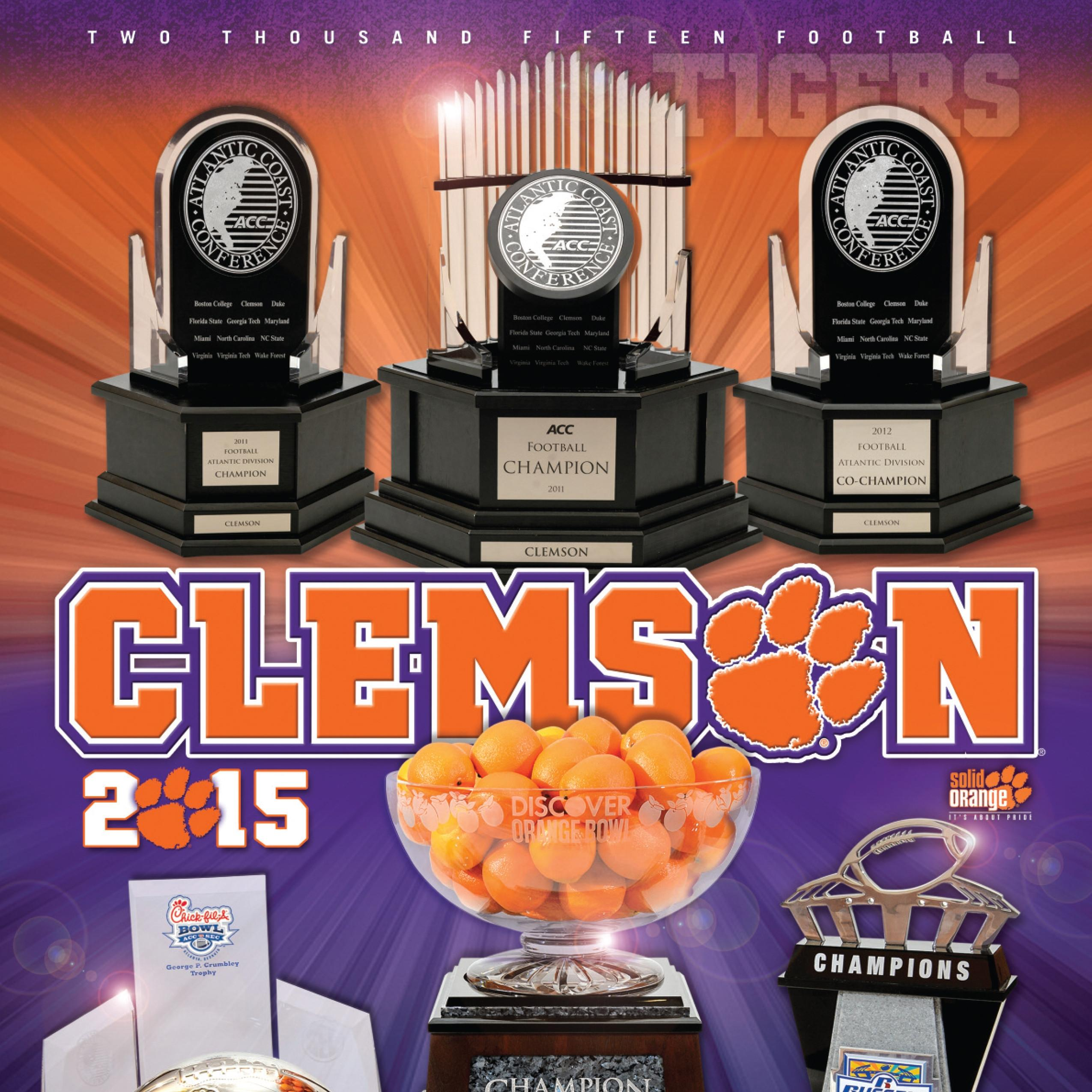 2015 Clemson Football Media Guide Now Available