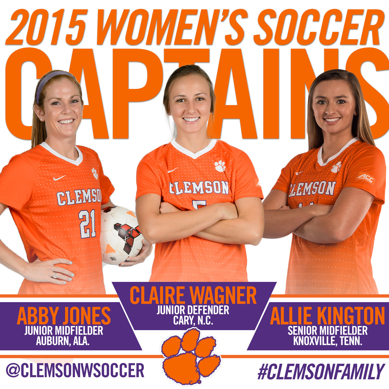 Radwanski Announces Captains for 2015 Season