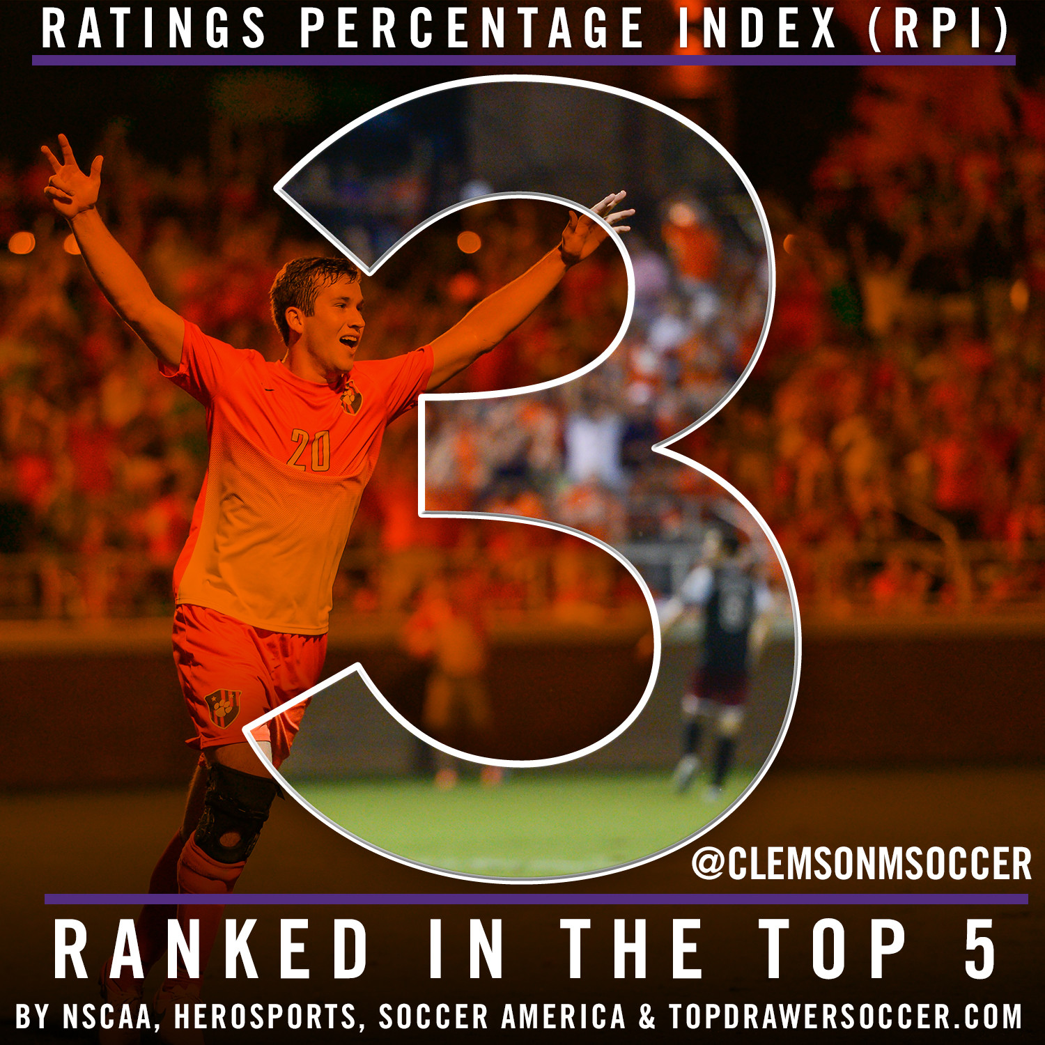 Tigers Listed Third in RPI, Ranked in Top Five in All Four Polls
