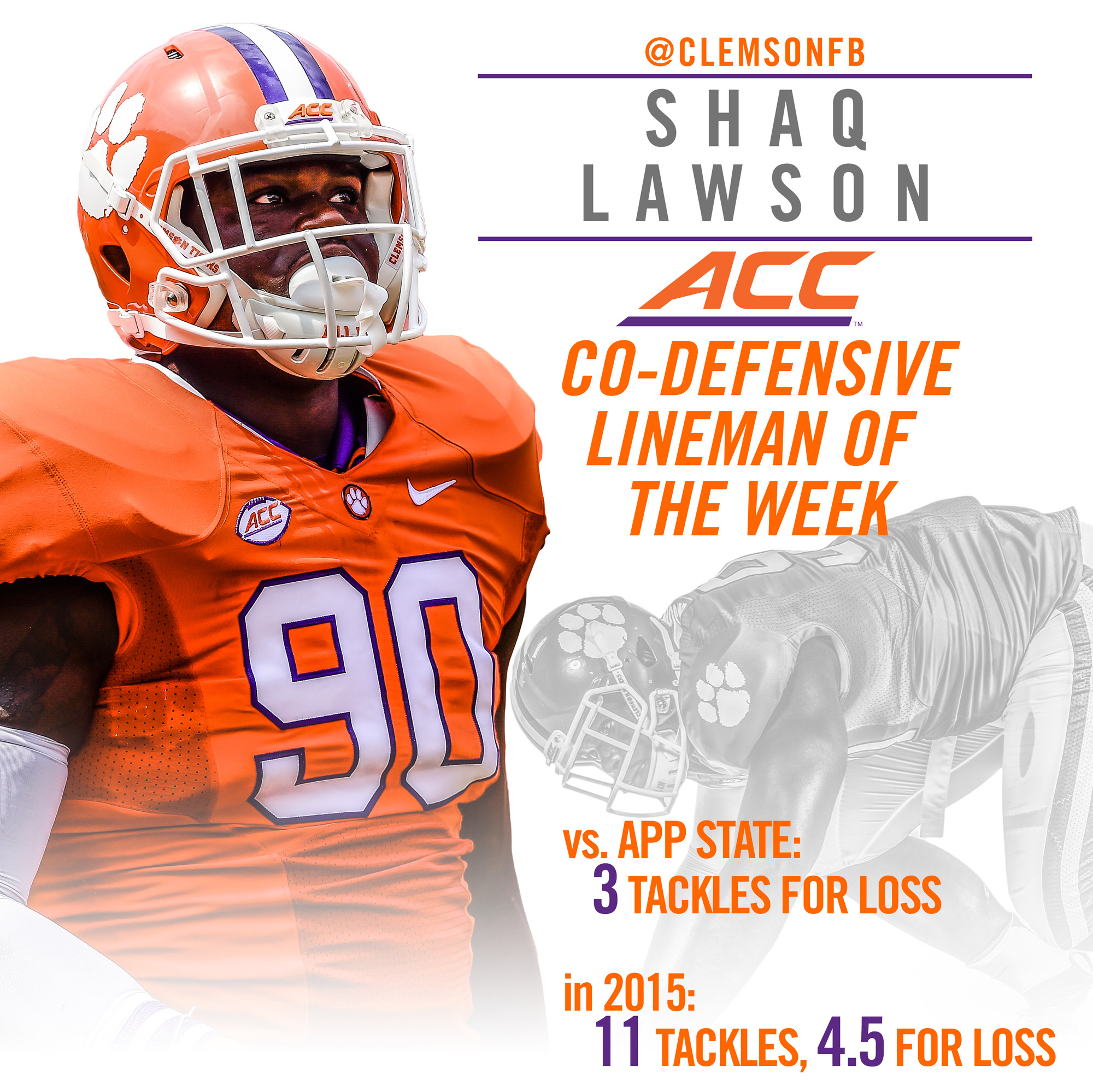 Lawson Honored by ACC