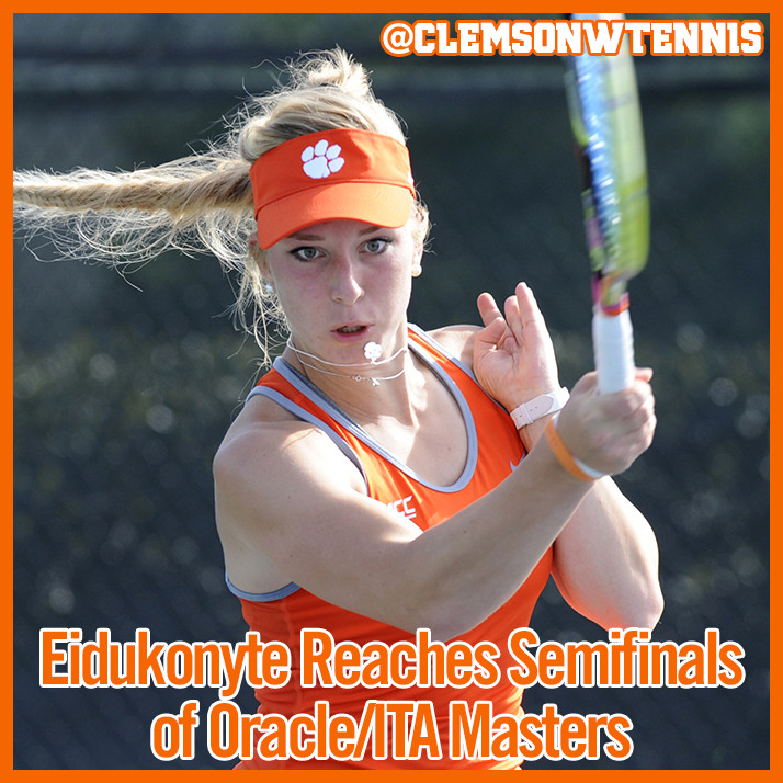 Eidukonyte Reaches Semifinals of Oracle/ITA Masters