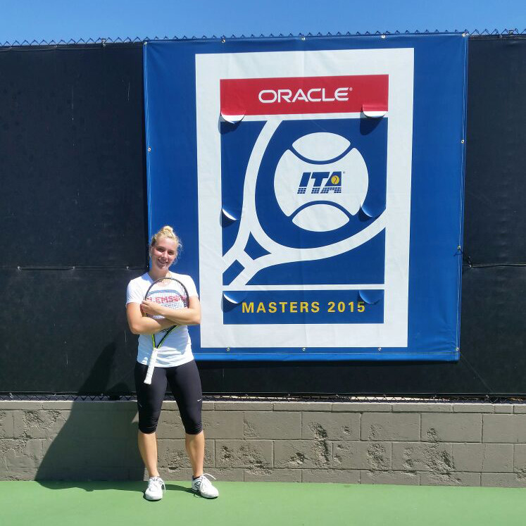 Eidukonyte Opens Play at Oracle/ITA Masters Friday