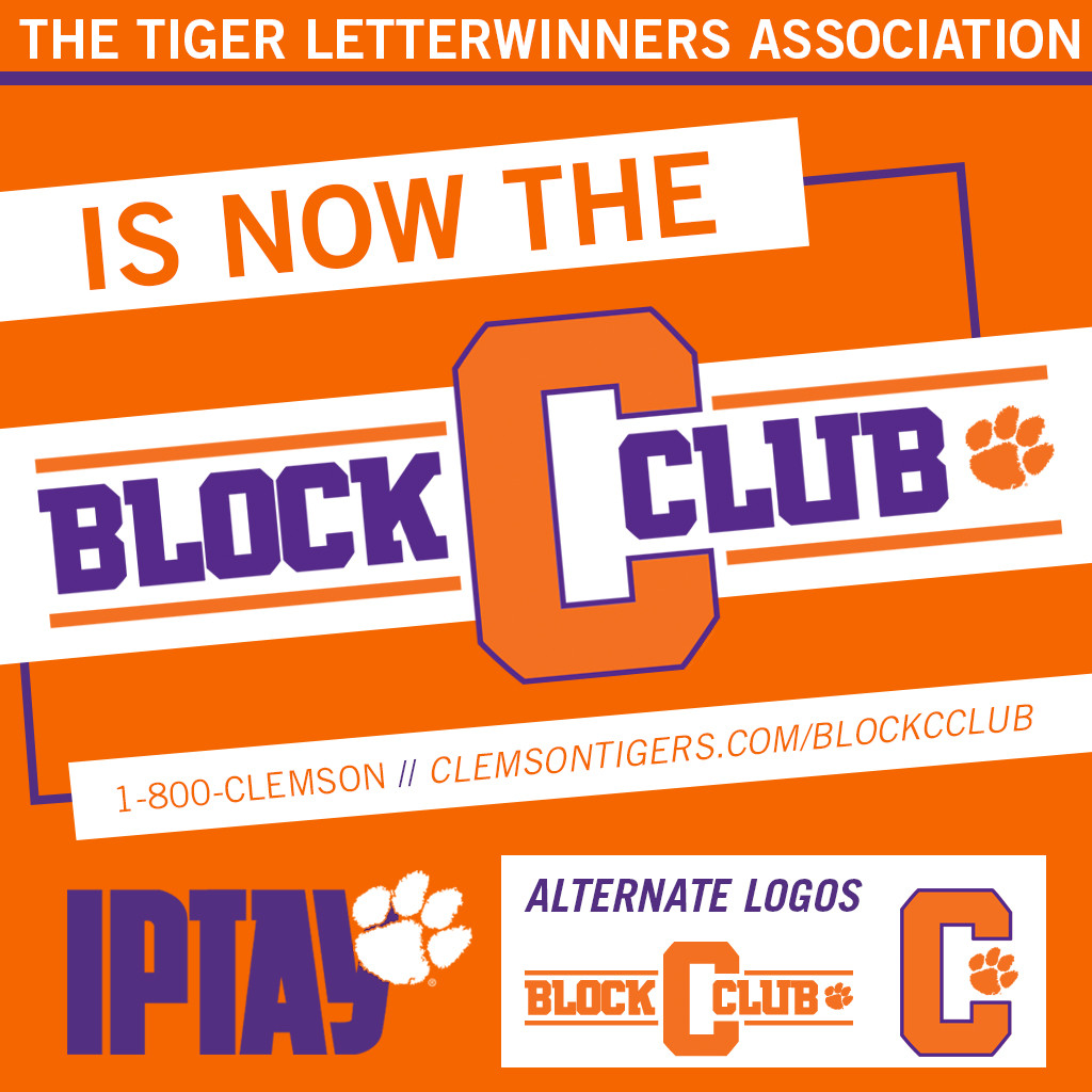 Tiger Letterwinners Association Is Now The Block C Club