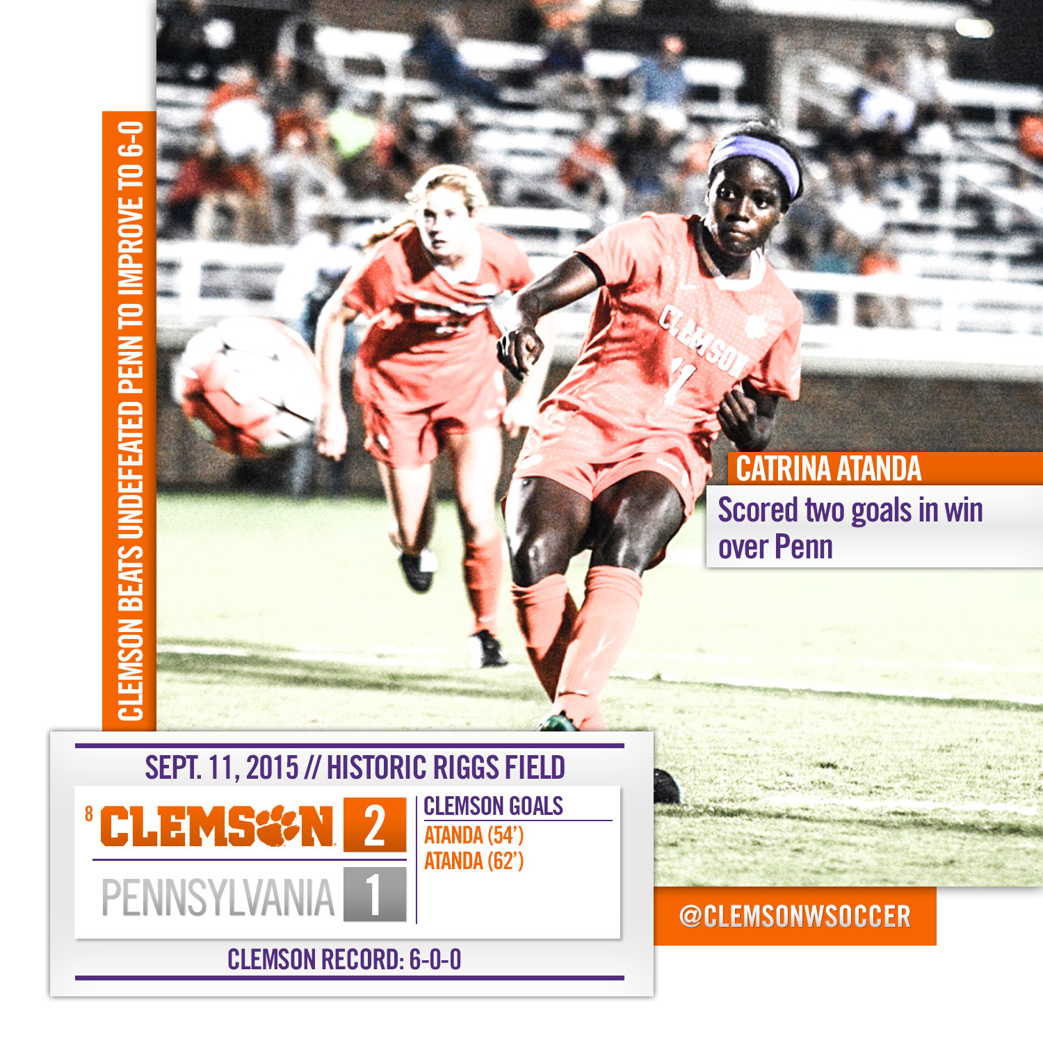 Tigers Win Again, Over Penn