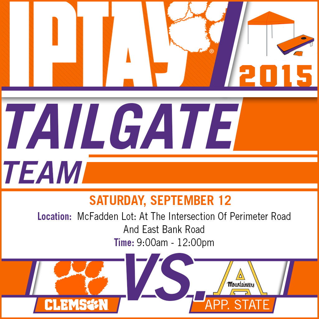 IPTAY Tailgate Team Heads North For Appalachian State
