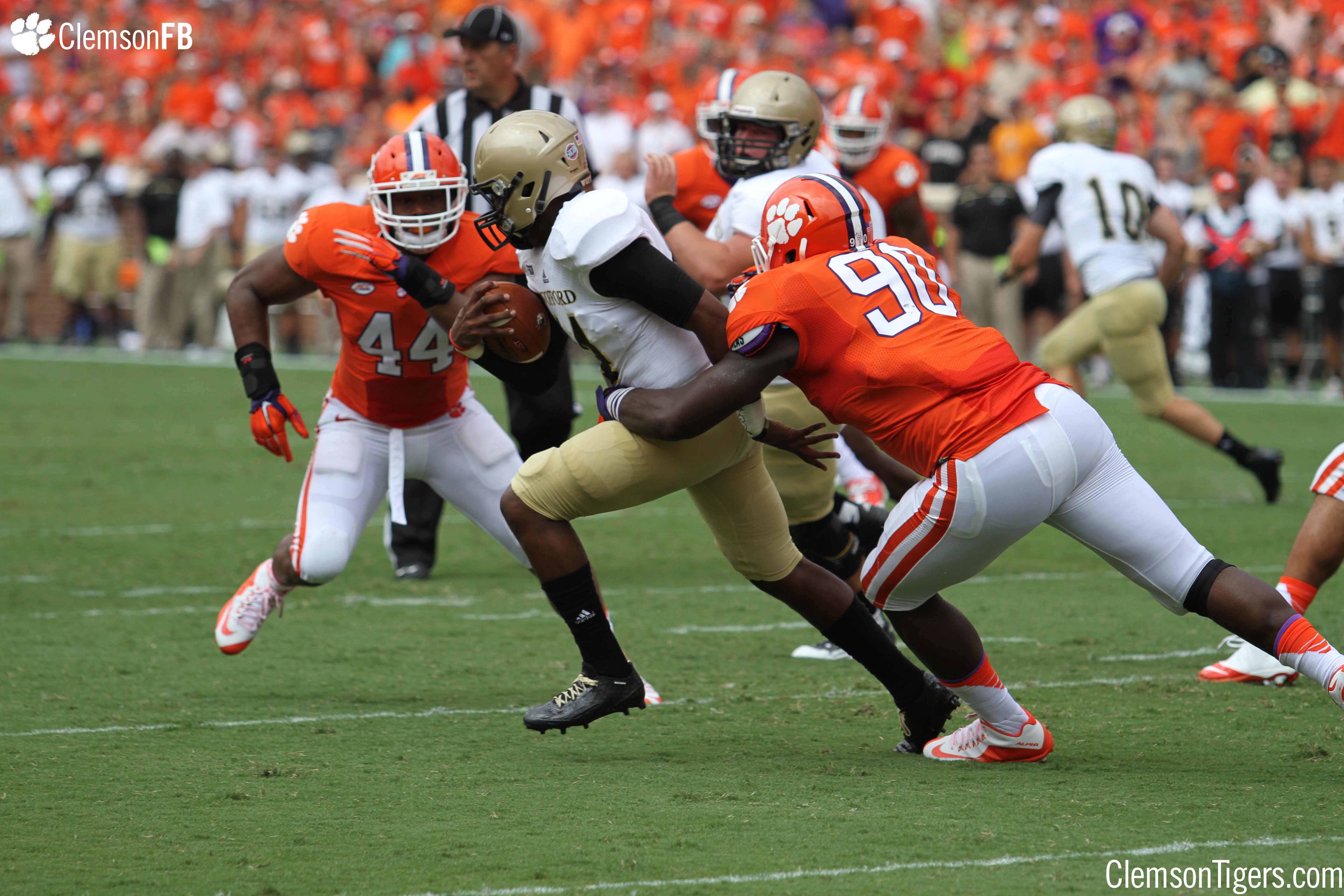Clemson Vs Wofford 9 5 15 Clemson Tigers Official