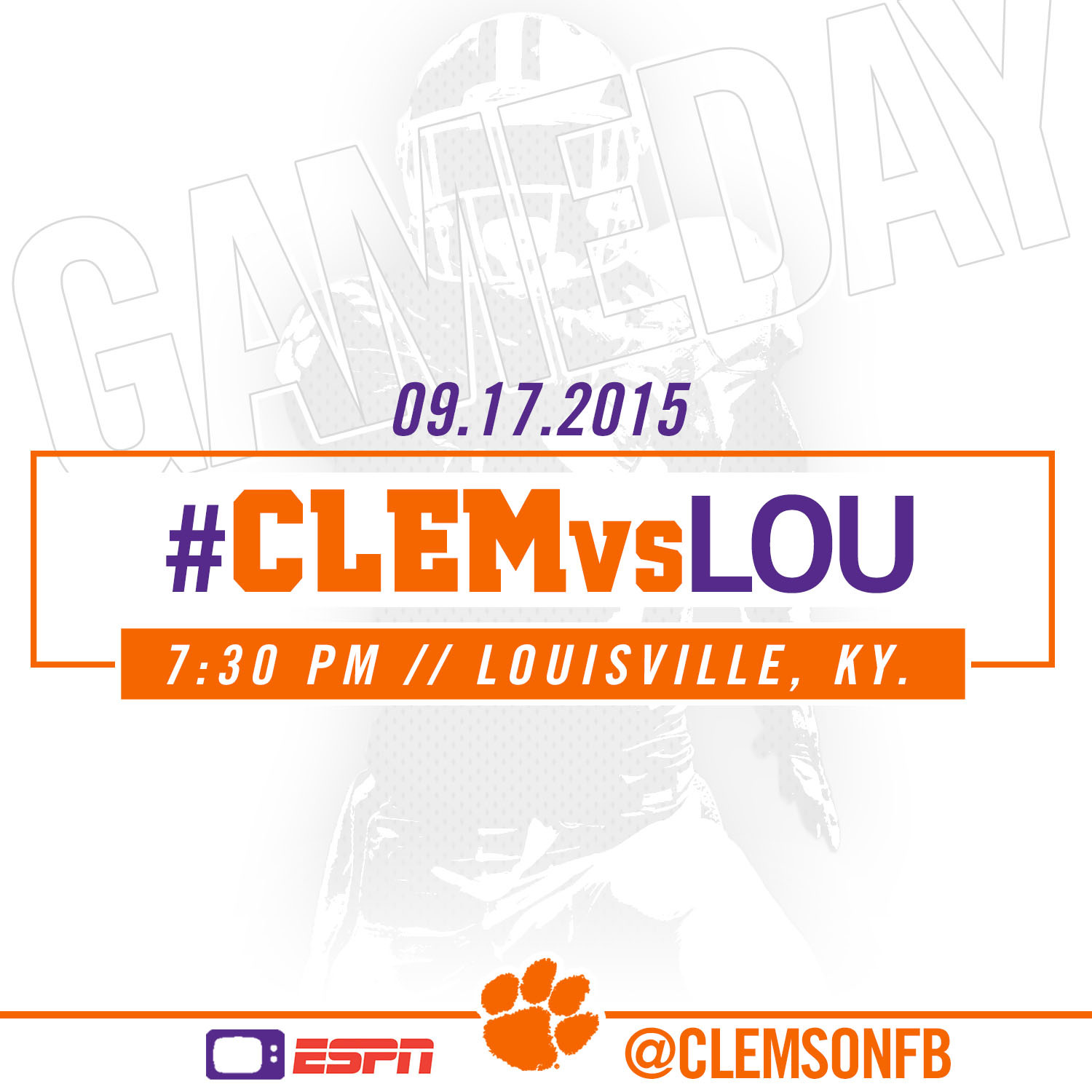 #CLEMvsLOU Gameday Guide