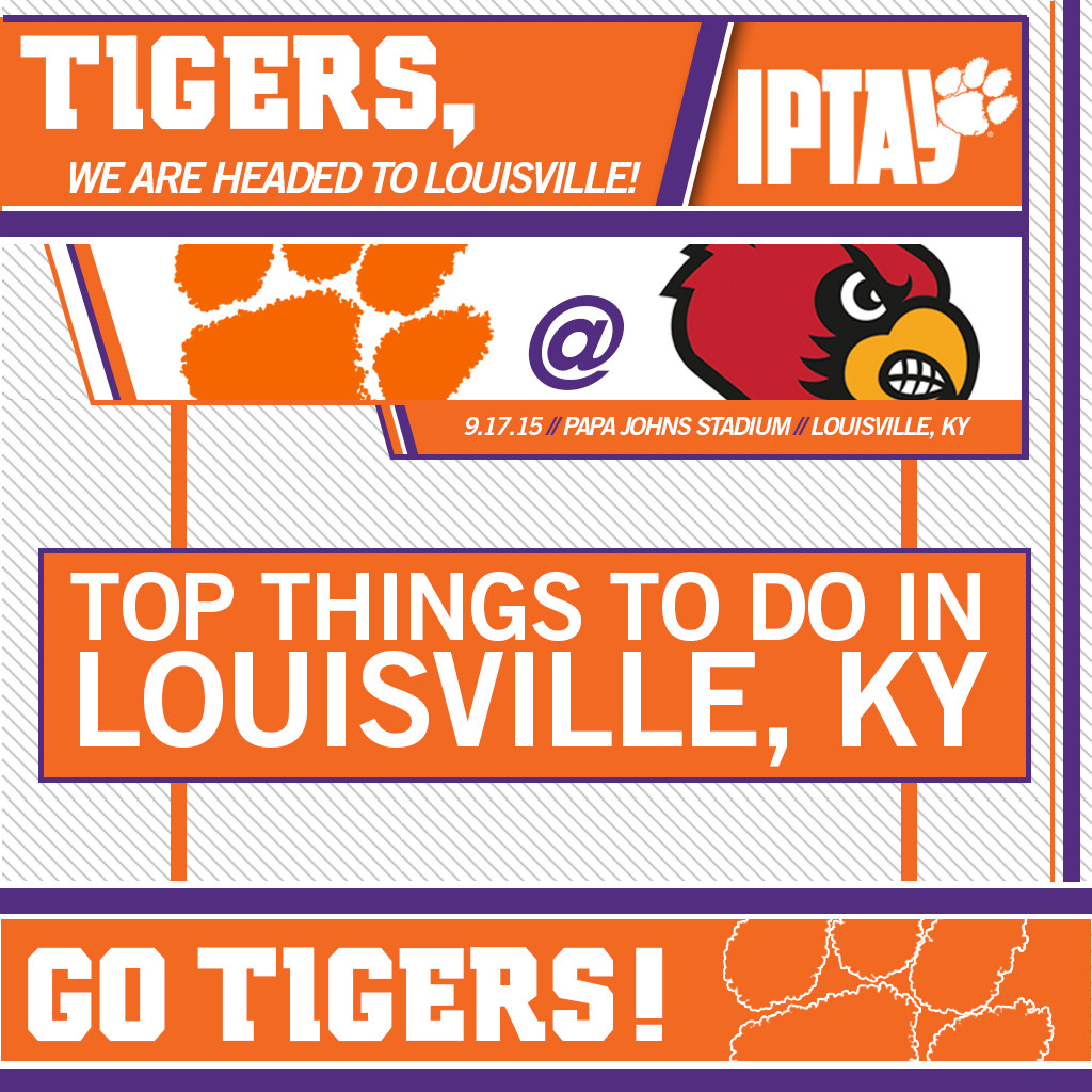 Louisville Bound? Tailgate With The Tigers!