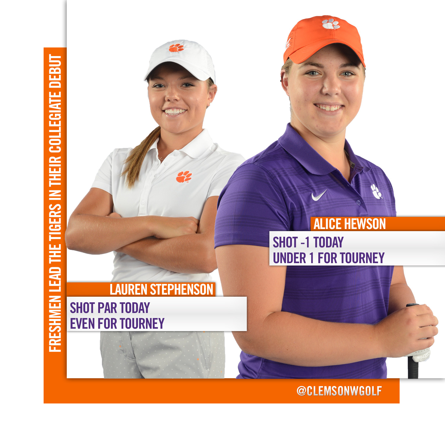 Clemson Tied For Ninth at Cougar Classic