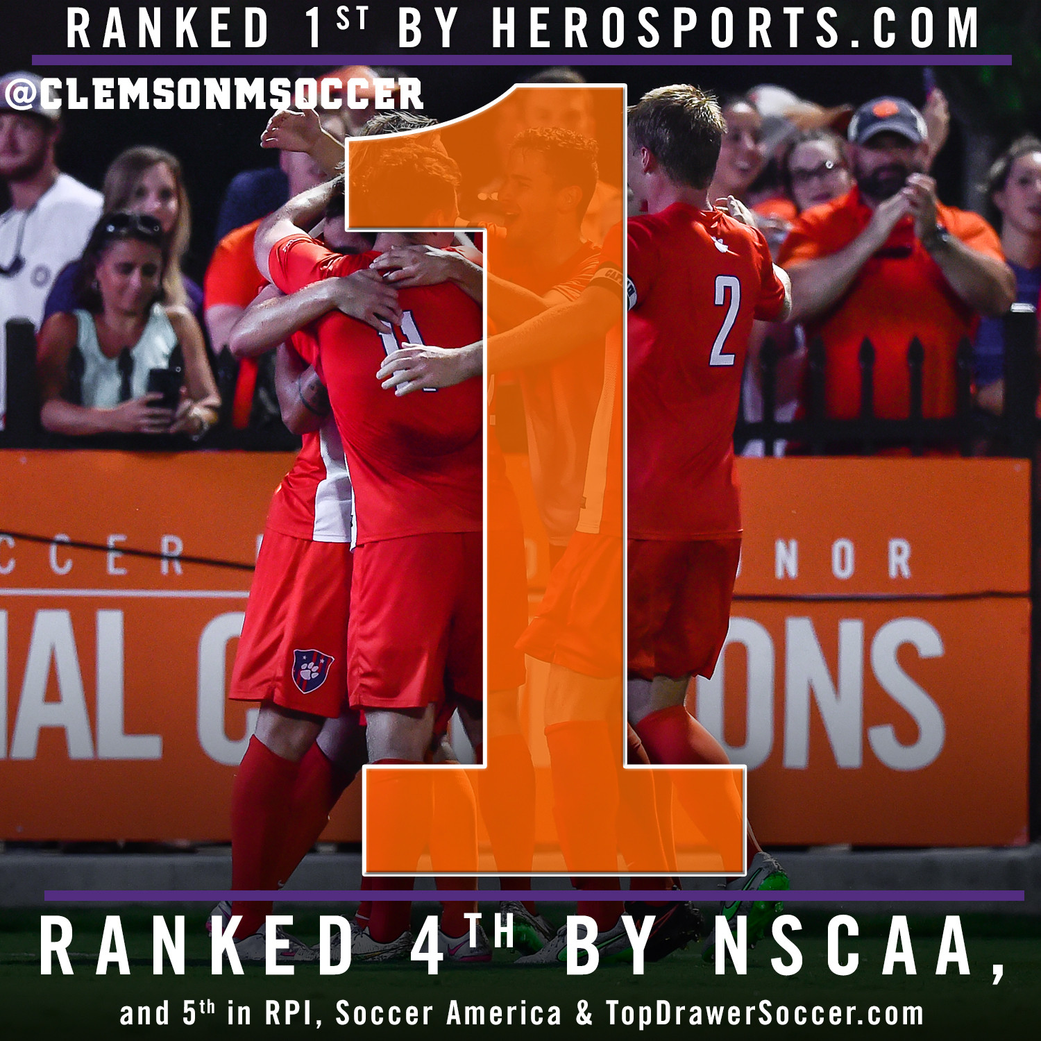 Tigers Ranked First in One Poll, Top Five in Others