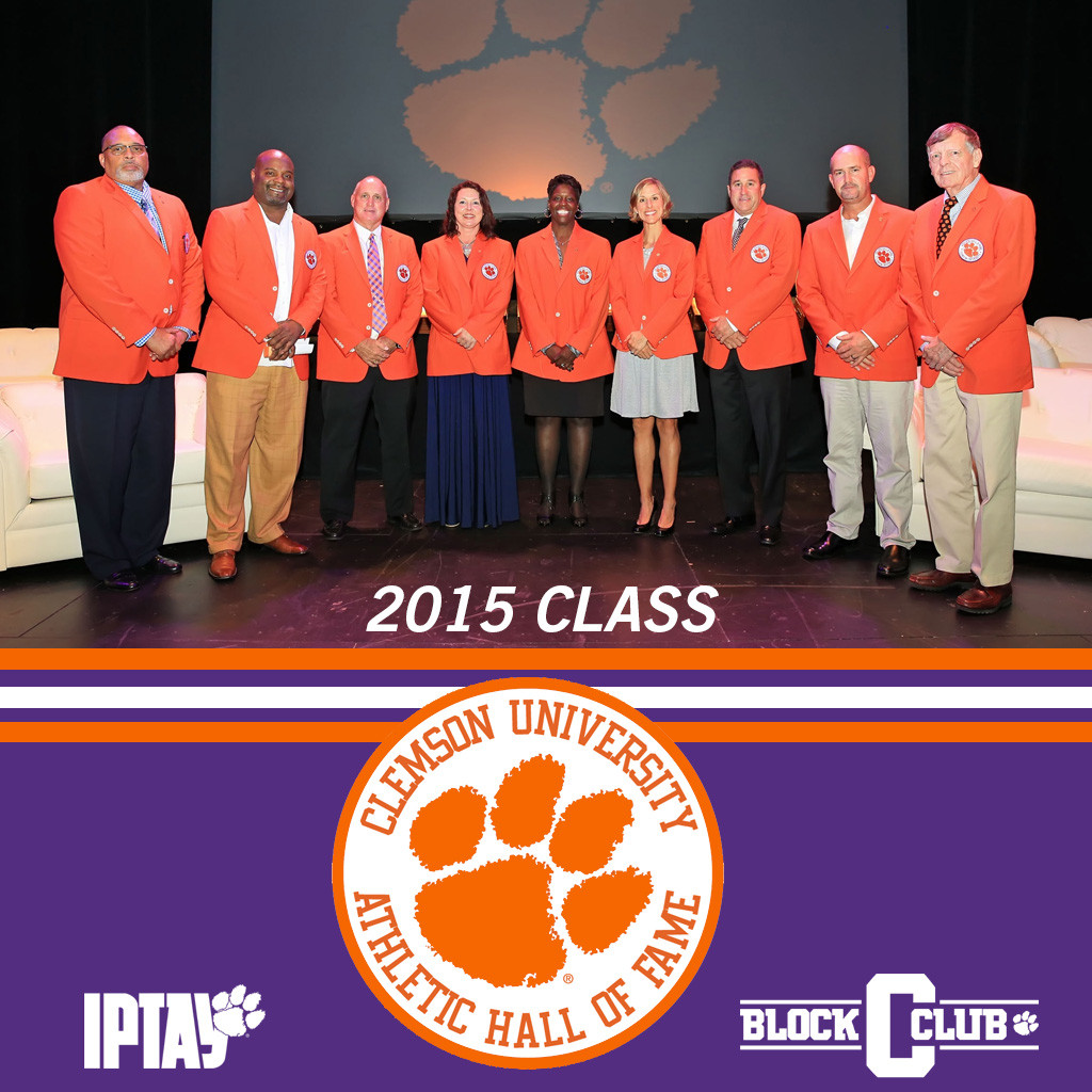 Ten New Members Inducted Into The Clemson Athletic Hall Of Fame