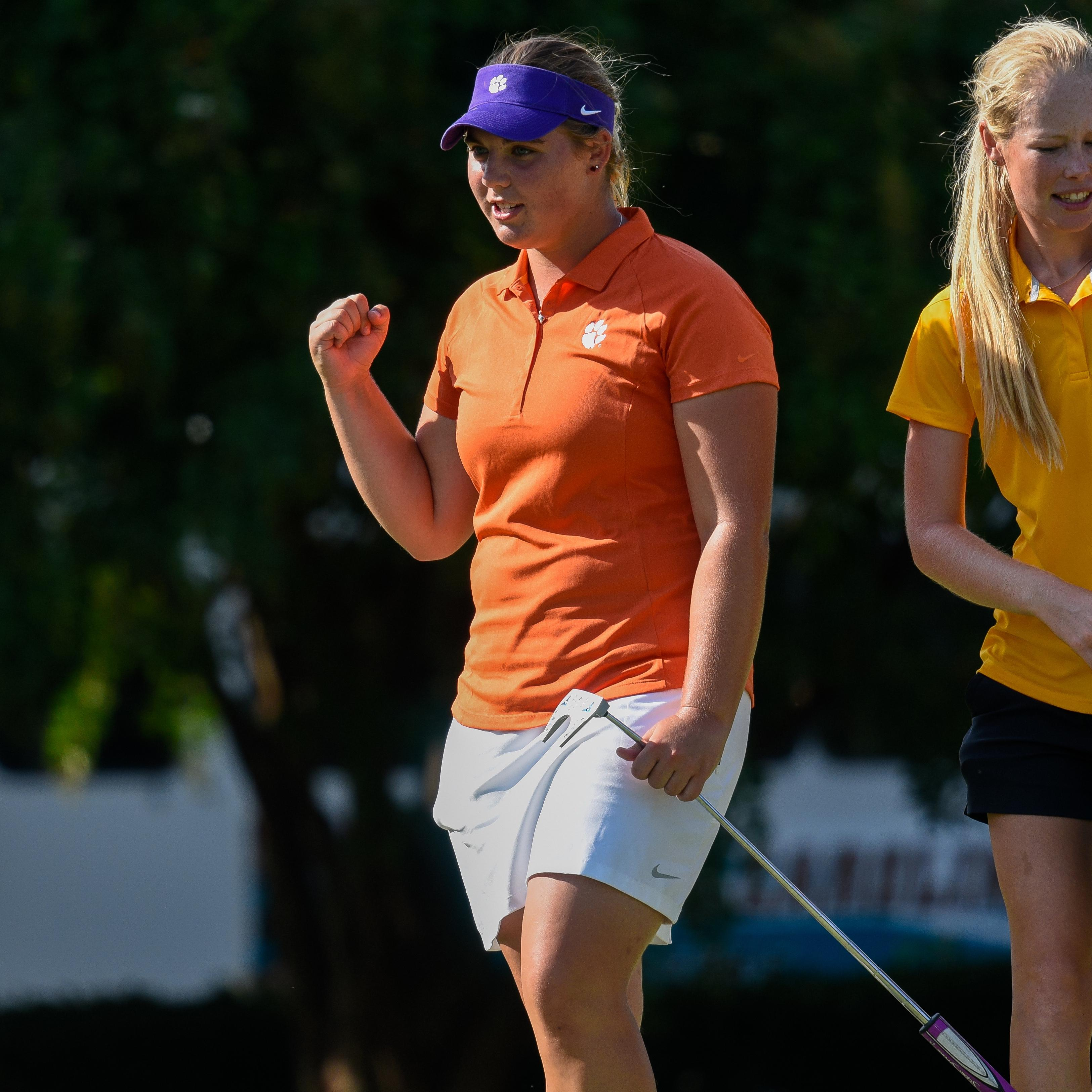 Clemson, Hewson, Eighth after First Round of Landfall Tradition