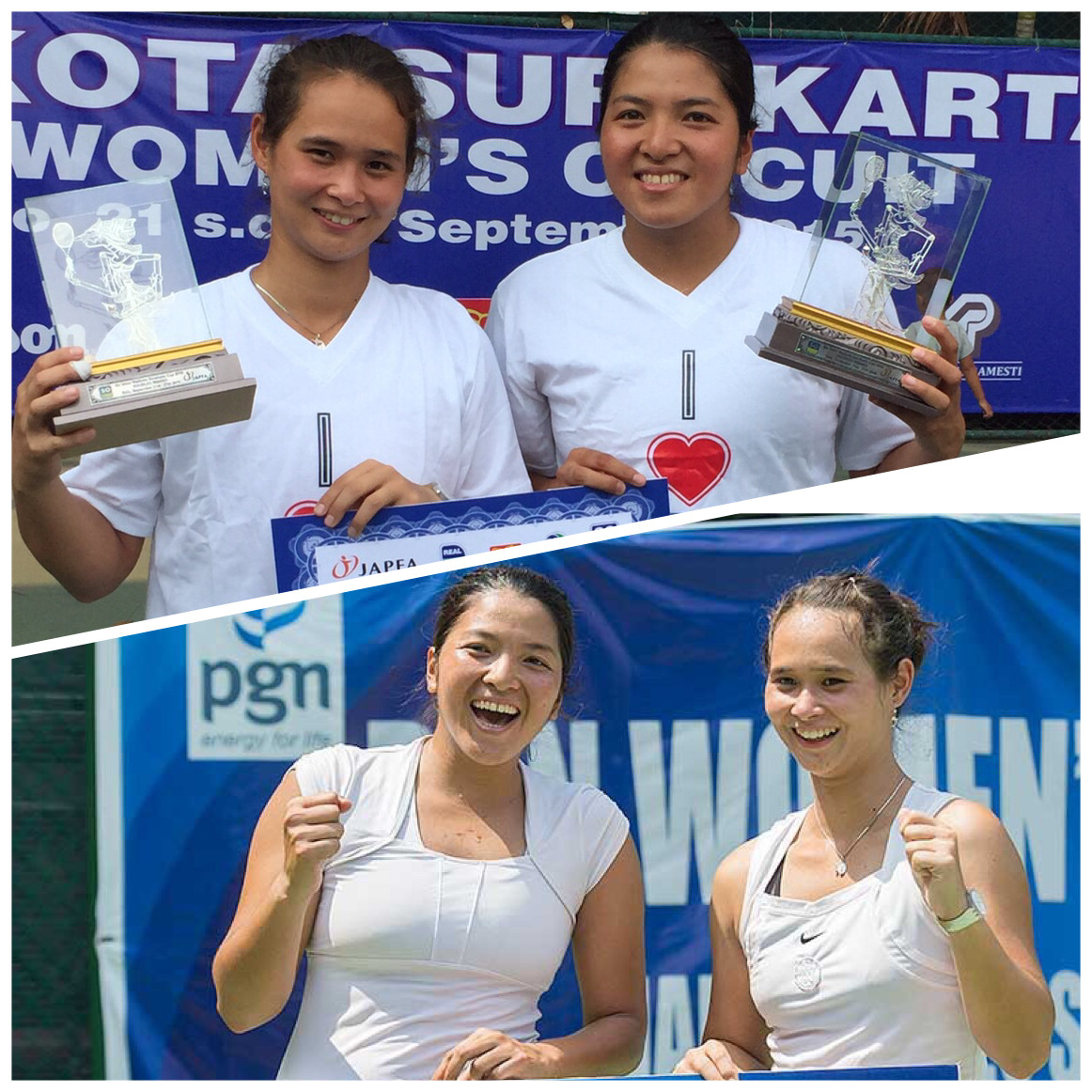 Gumulya & Rompies Win Two Straight ITF Doubles Titles