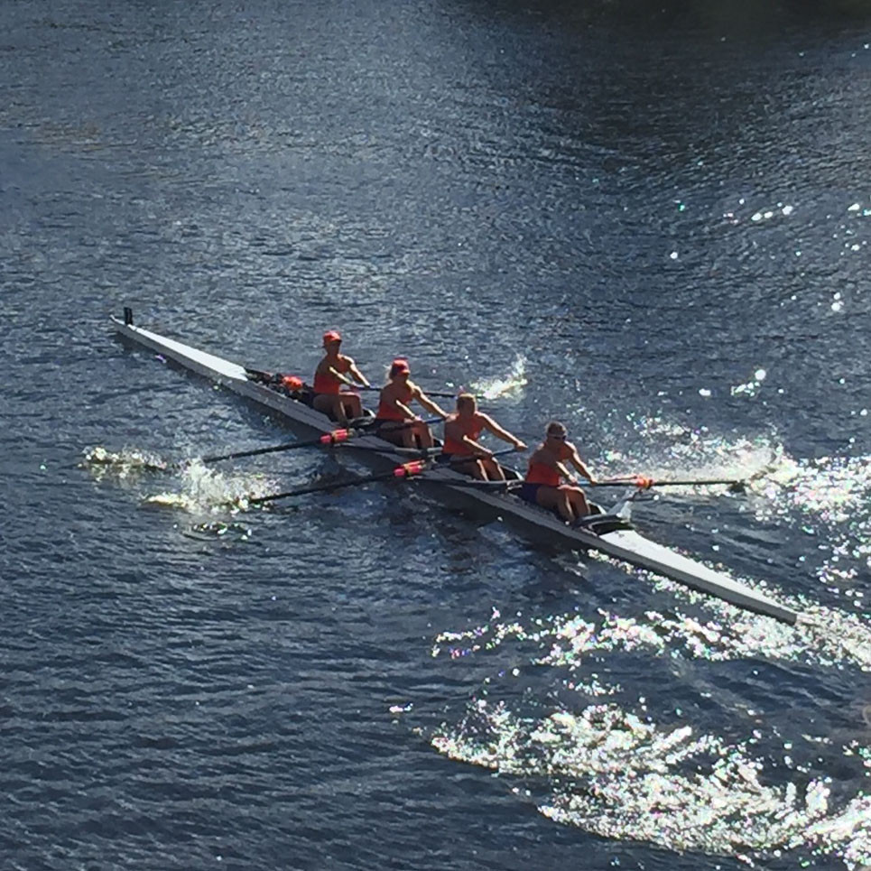 Tigers Compete at Head of the Charles