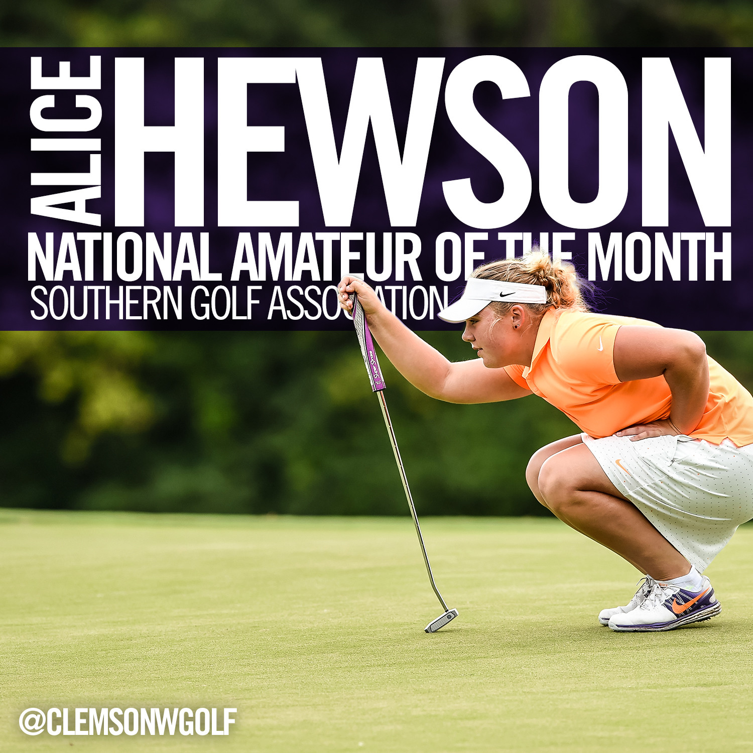 Hewson Named National Player of the Month