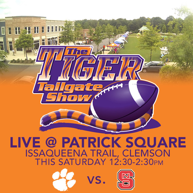 Tiger Tailgate Show Set for Patrick Square in Clemson