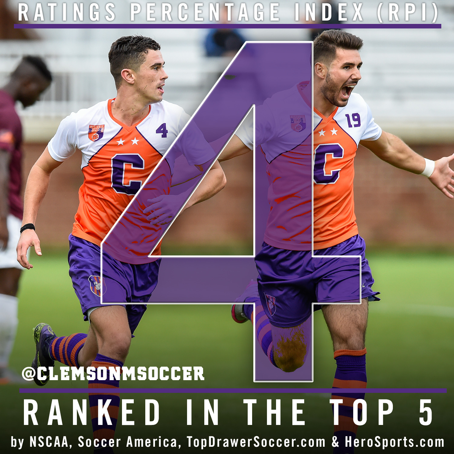 Tigers Ranked Fourth in RPI, Top 5 in All Four Polls