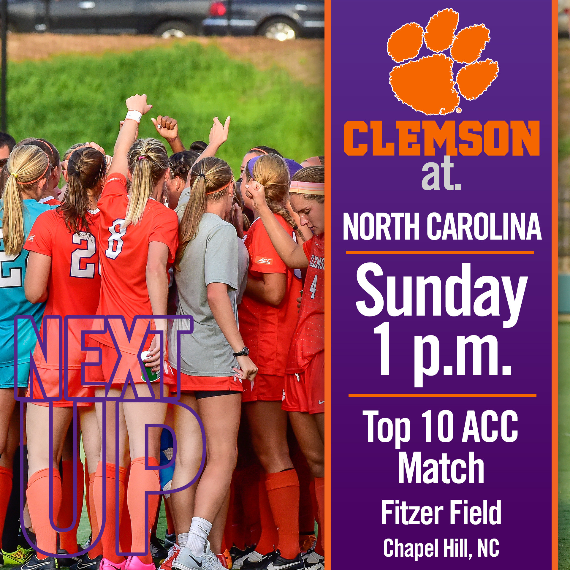 #6 Tigers Wrap Up Weekend Against UNC