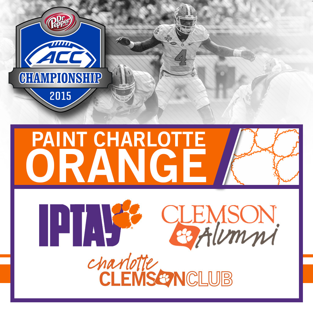 Join Us In Charlotte For An Official ACC Championship Clemson Event!