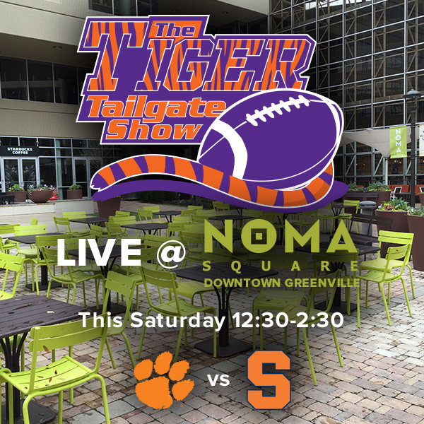 Tiger Tailgate Show Heads to NOMA Square in Greenville