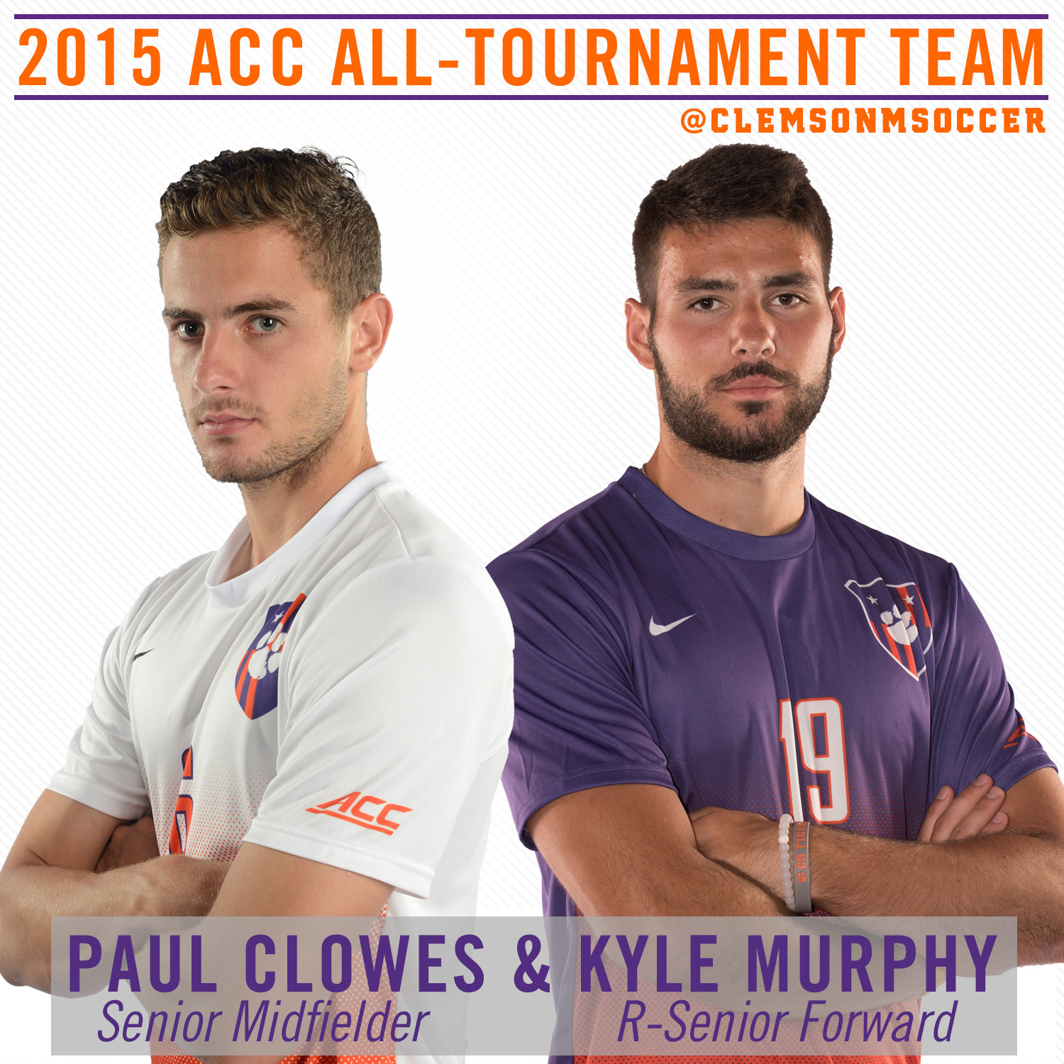 Clowes & Murphy Named to 2015 ACC All-Tournament Team
