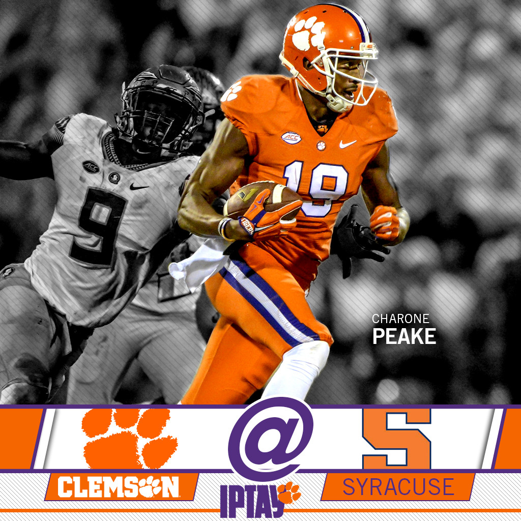 Meet Up With The Clemson Family In Syracuse!
